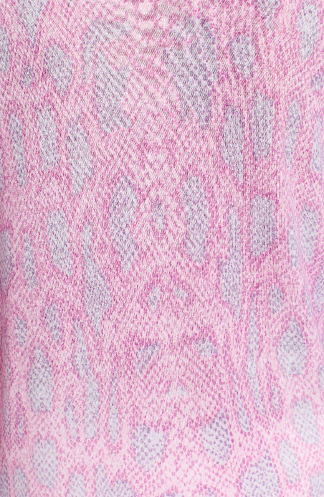 Alternate Image 3  - Equipment 'Sloane' Reptile Print Sweater