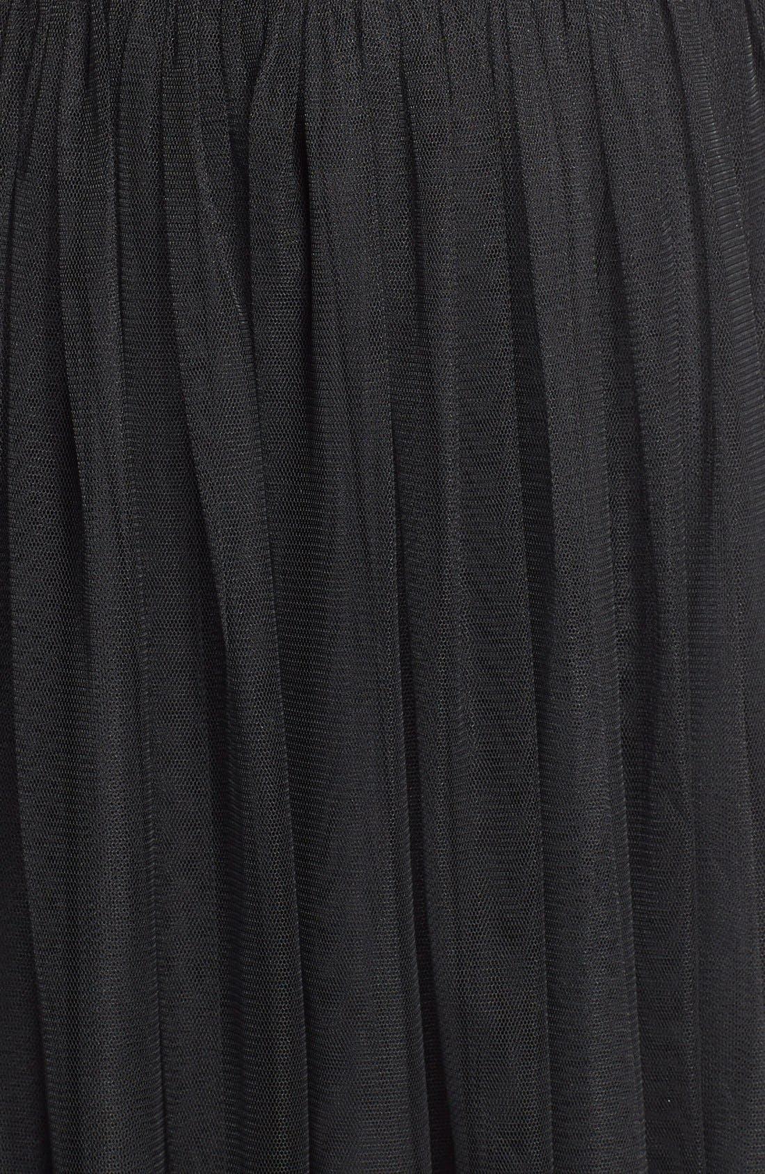 Alternate Image 3  - En Crème Embellished Cutout Fit & Flare Dress (Juniors)