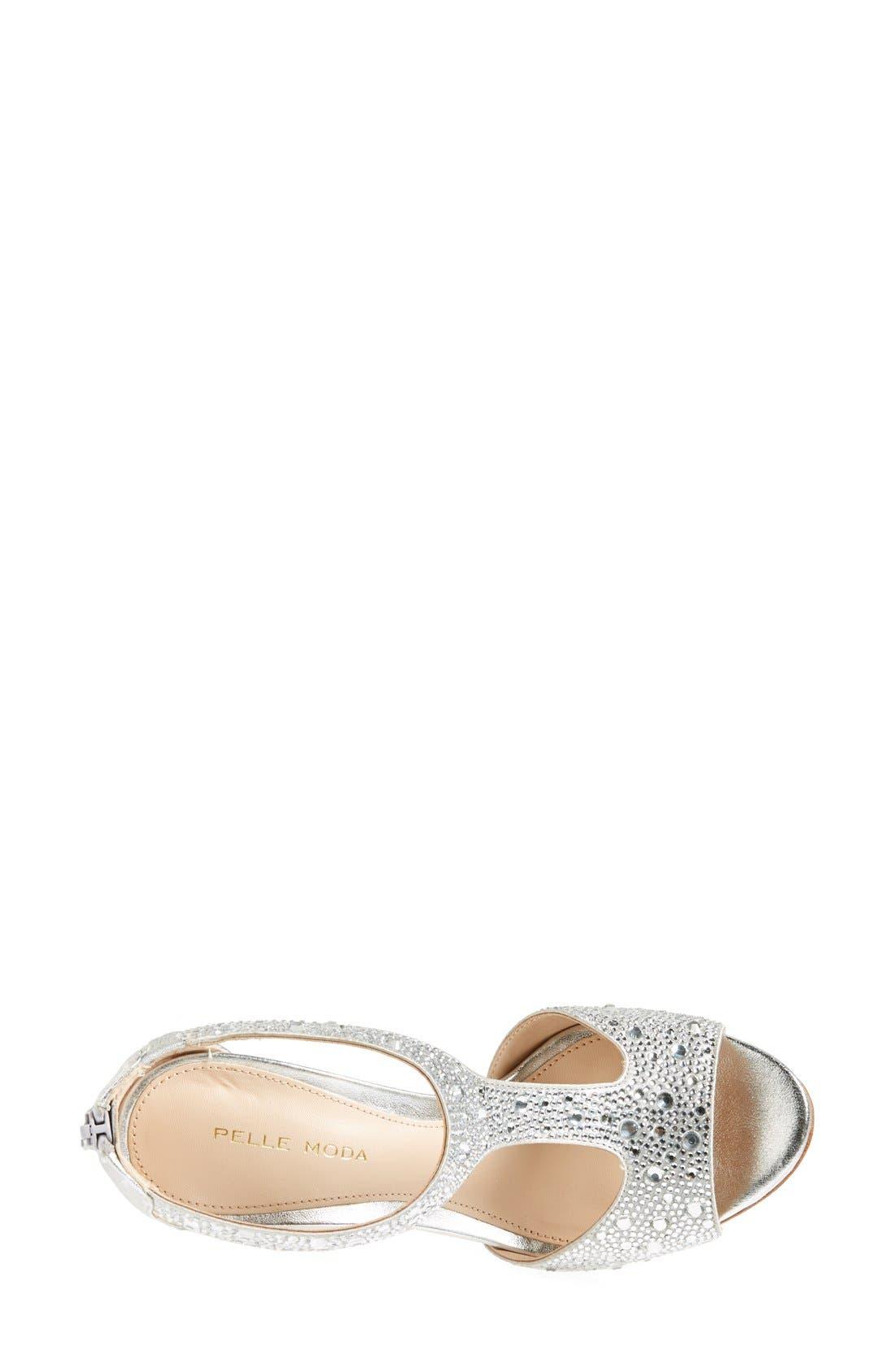 Alternate Image 3  - Pelle Moda 'Jett' Embellished T Strap Sandal (Women)