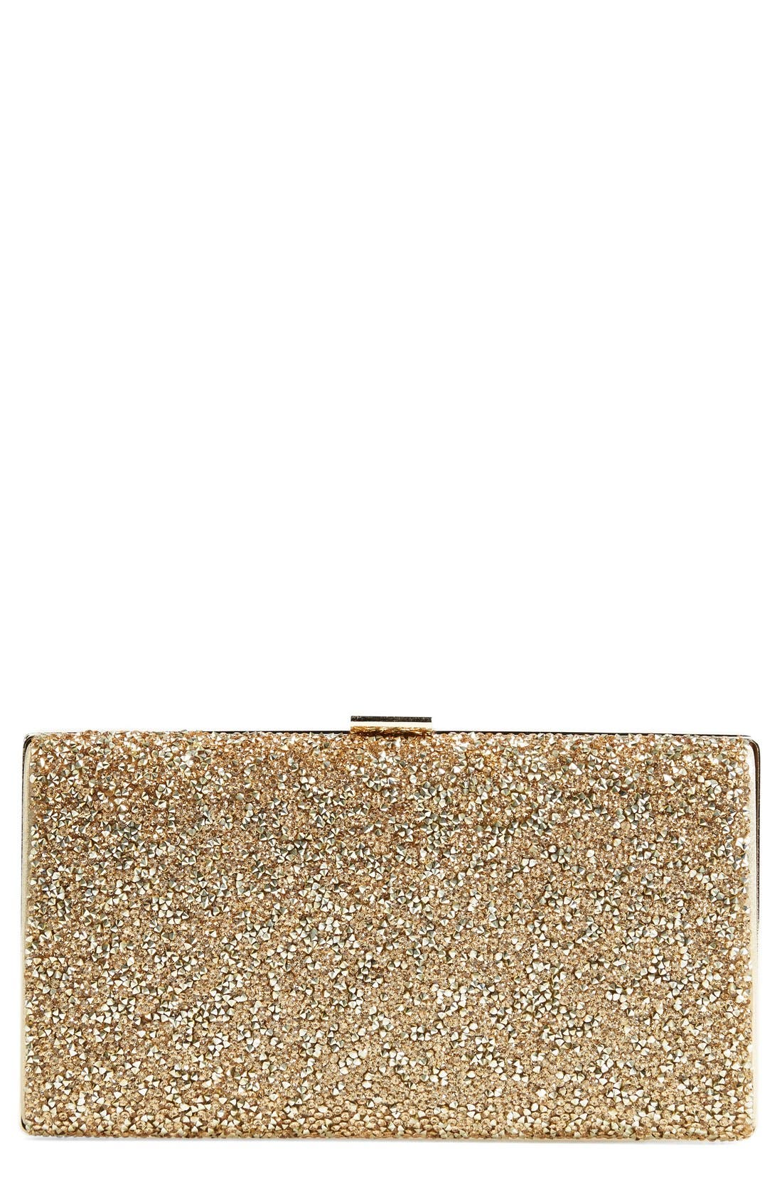 Alternate Image 1 Selected - Natasha Couture Crystal Clutch