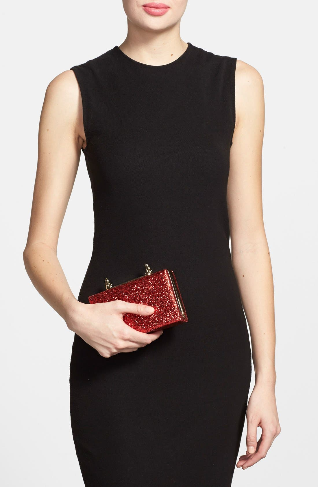 Alternate Image 2  - kate spade new york 'place your bets - ravi' box clutch