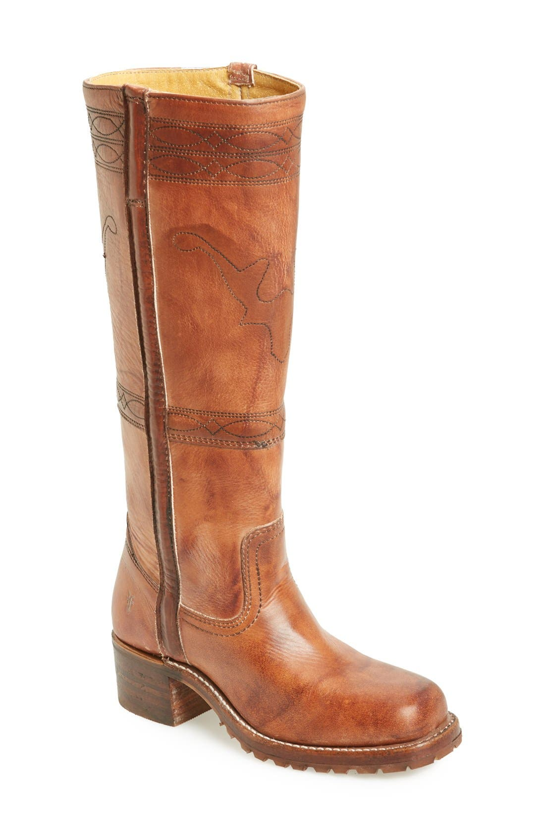 Alternate Image 1 Selected - Frye 'Campus' Riding Boot (Women)
