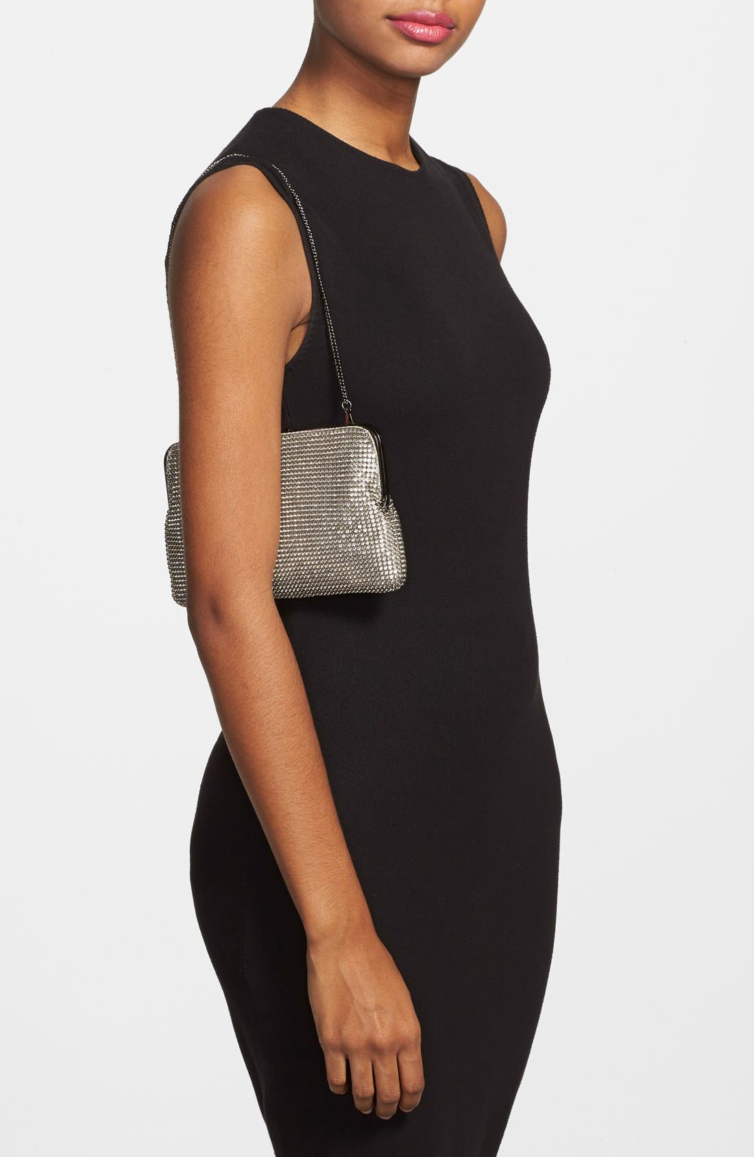 Alternate Image 2  - Whiting & Davis Mesh Clutch