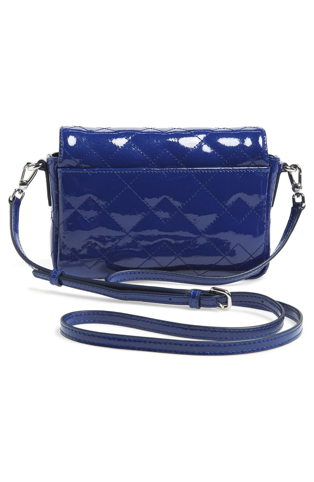 Alternate Image 4  - MARC BY MARC JACOBS 'Nifty Gifty - Julie' Patent Leather Crossbody Bag
