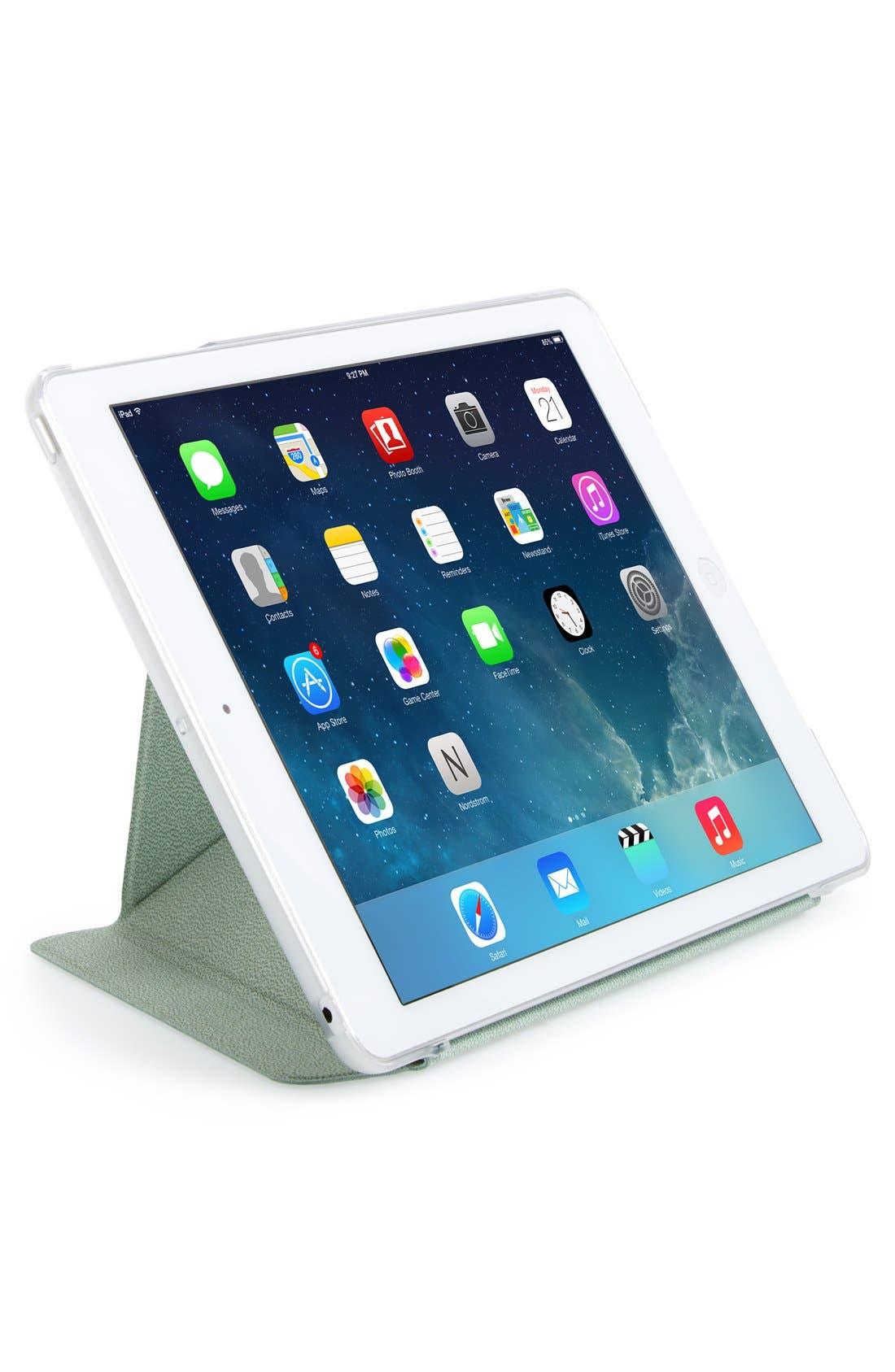 'VersaCover' iPad Air Cover,                             Alternate thumbnail 2, color,                             Green