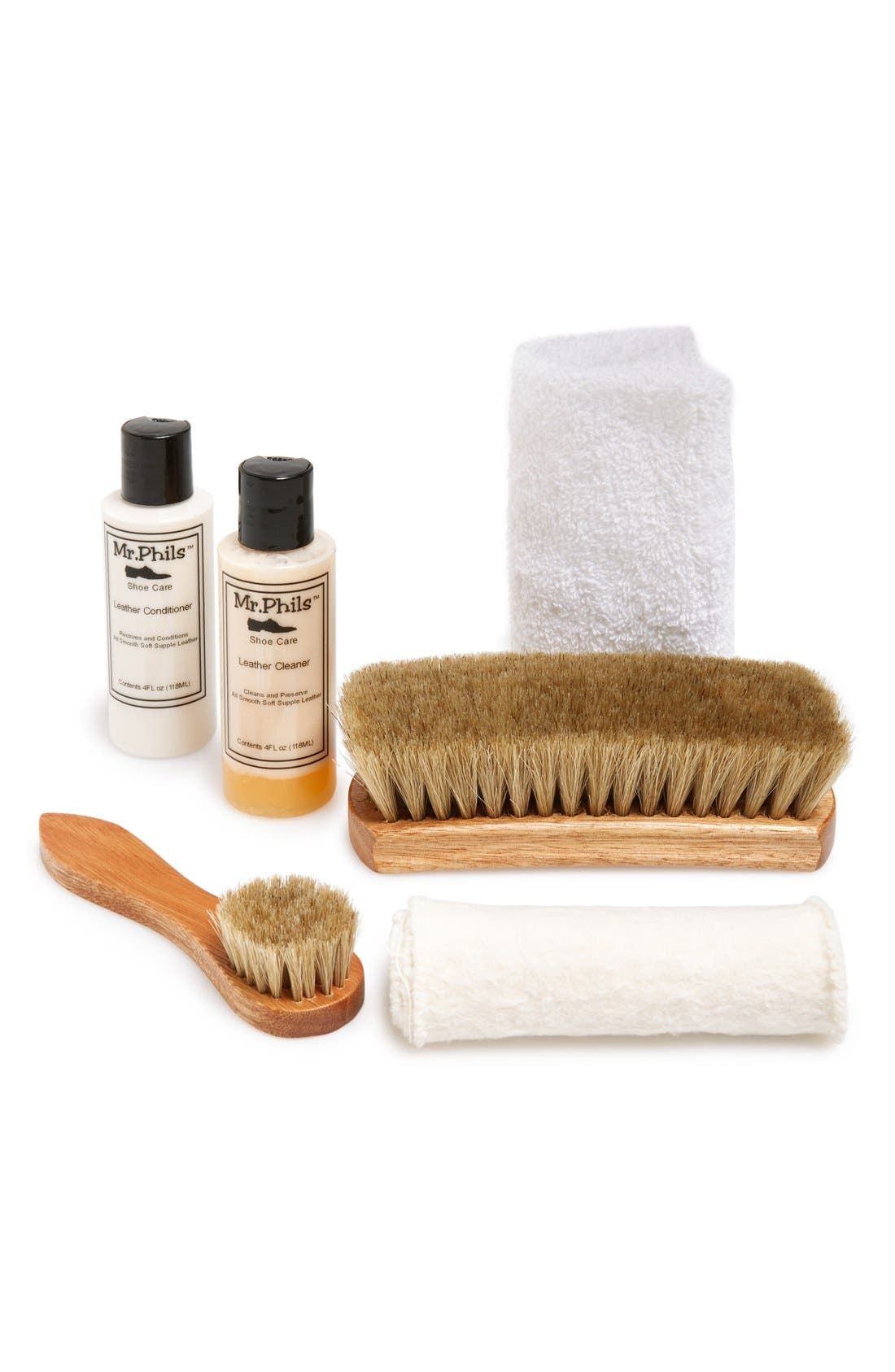 Shoe Cleaning Kit,                         Main,                         color, No Color
