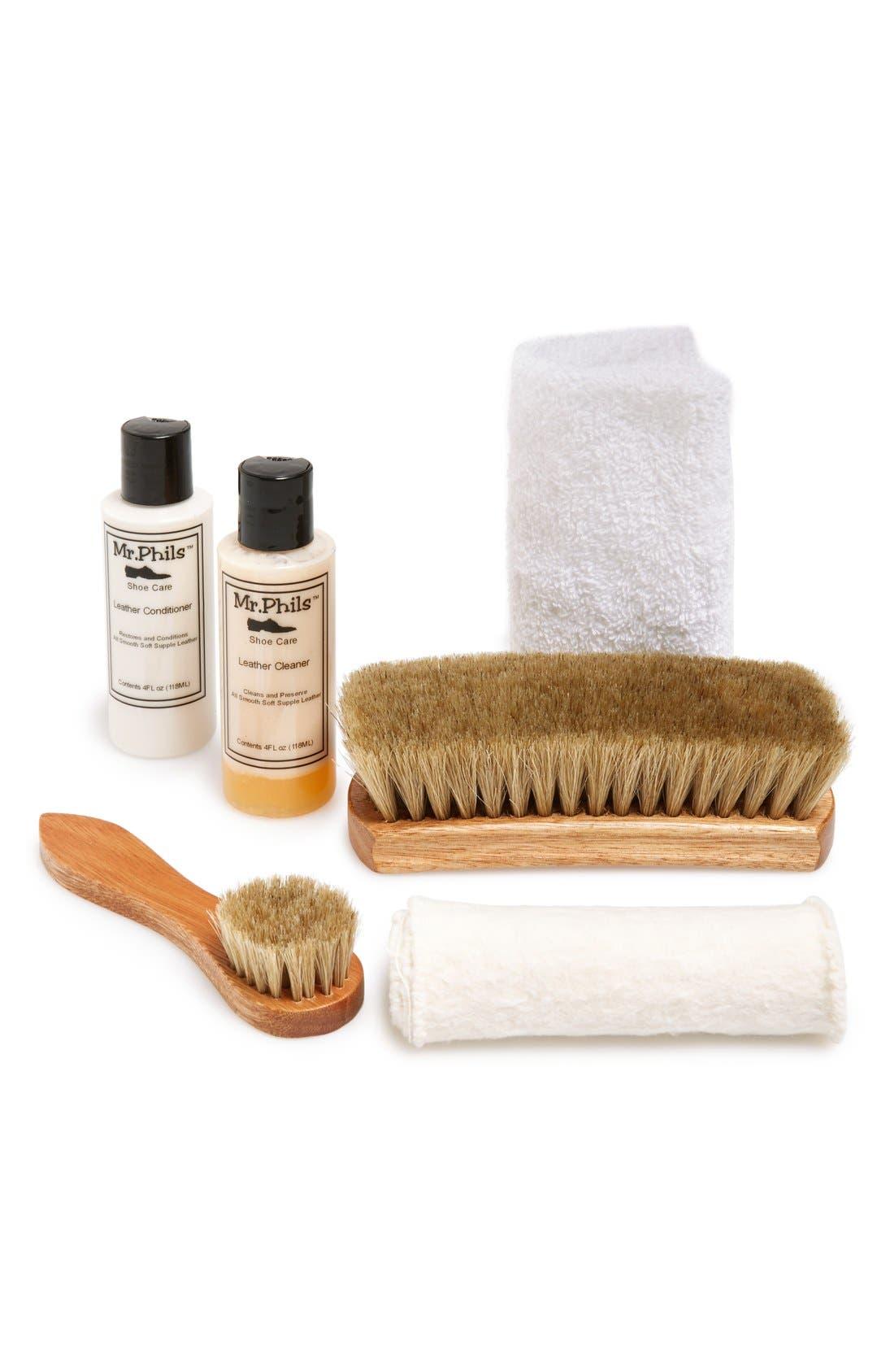 Shoe Cleaning Kit,                         Main,                         color, No Color