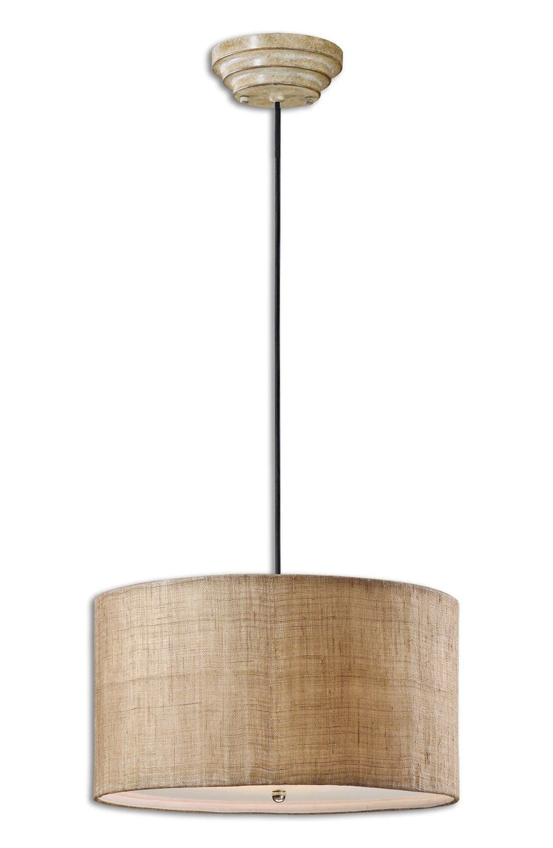 'Dafina' Pendant Light,                         Main,                         color, White