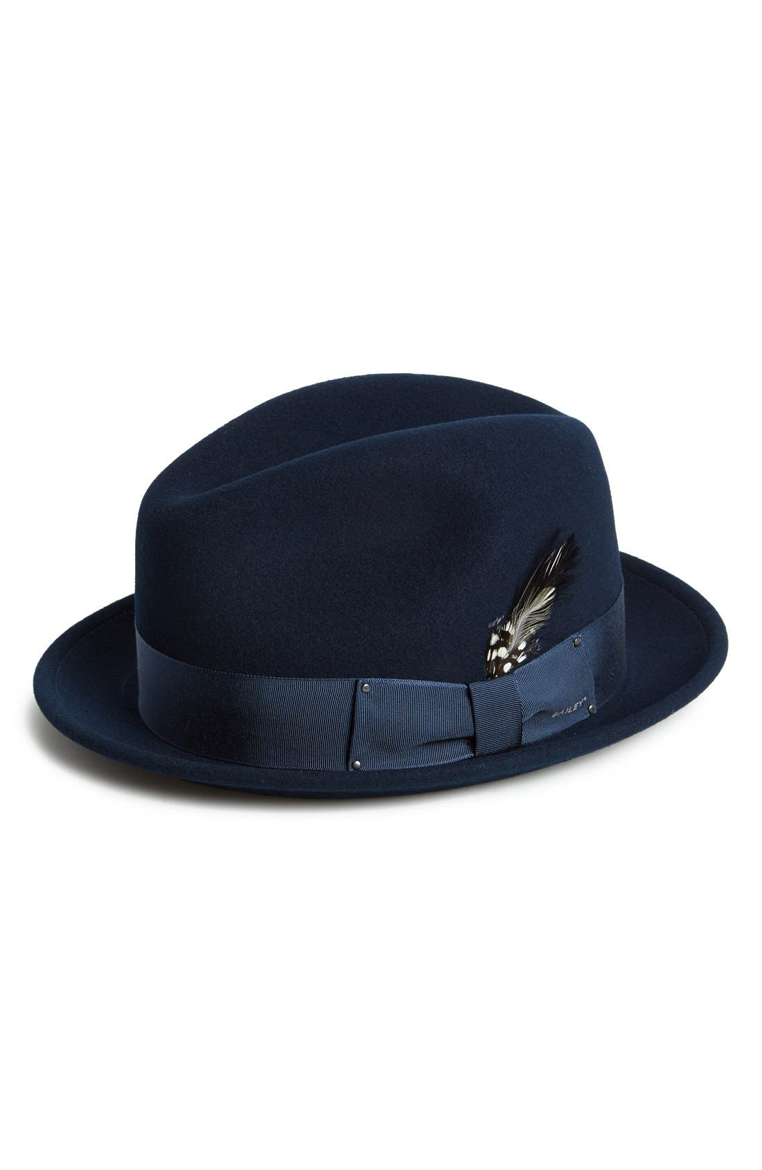 Bailey Tino Snap Brim Wool Fedora