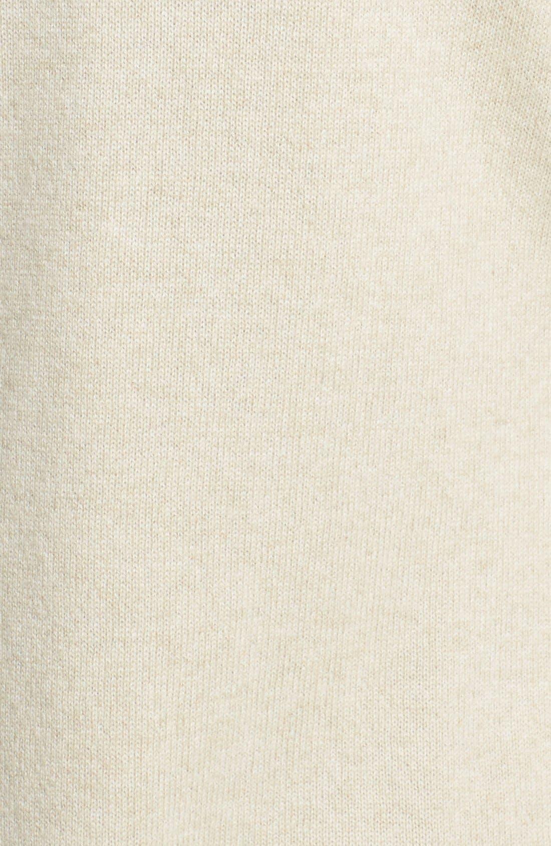 Alternate Image 3  - Sofia Cashmere Genuine Fox Fur Trim Cashmere Cardigan