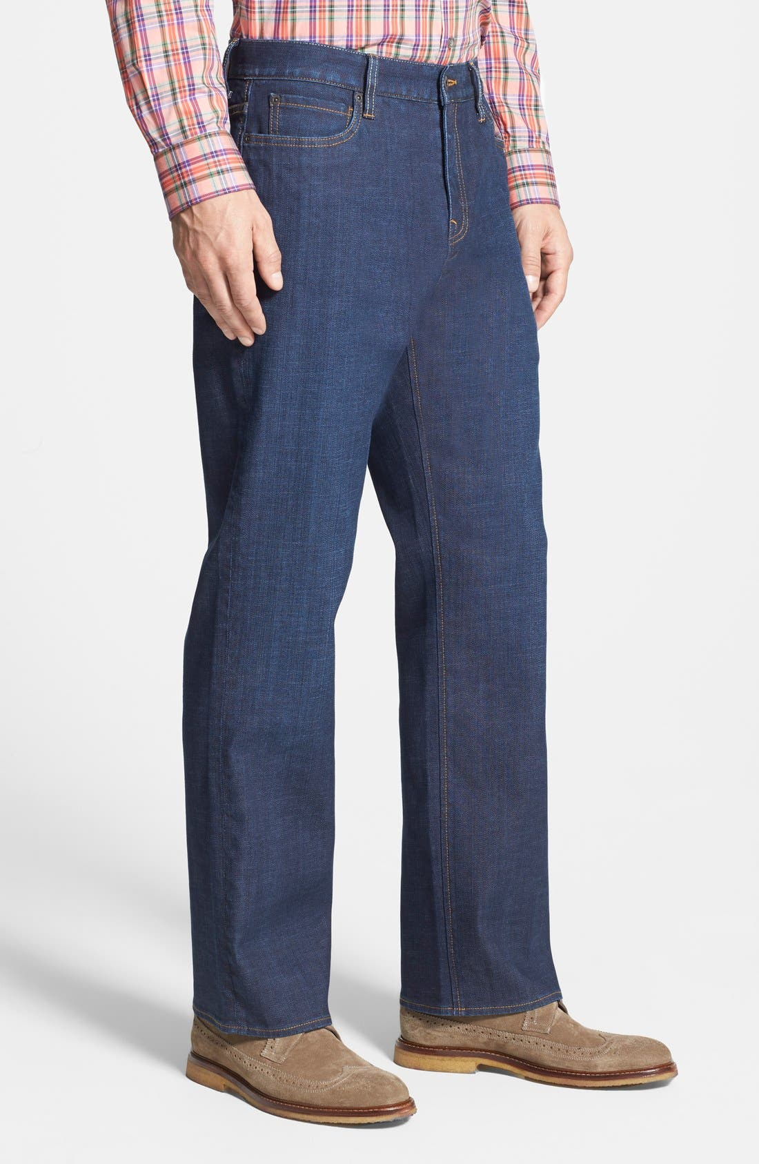 Greenwood Relaxed Fit Jeans,                             Alternate thumbnail 3, color,                             Venice Blue