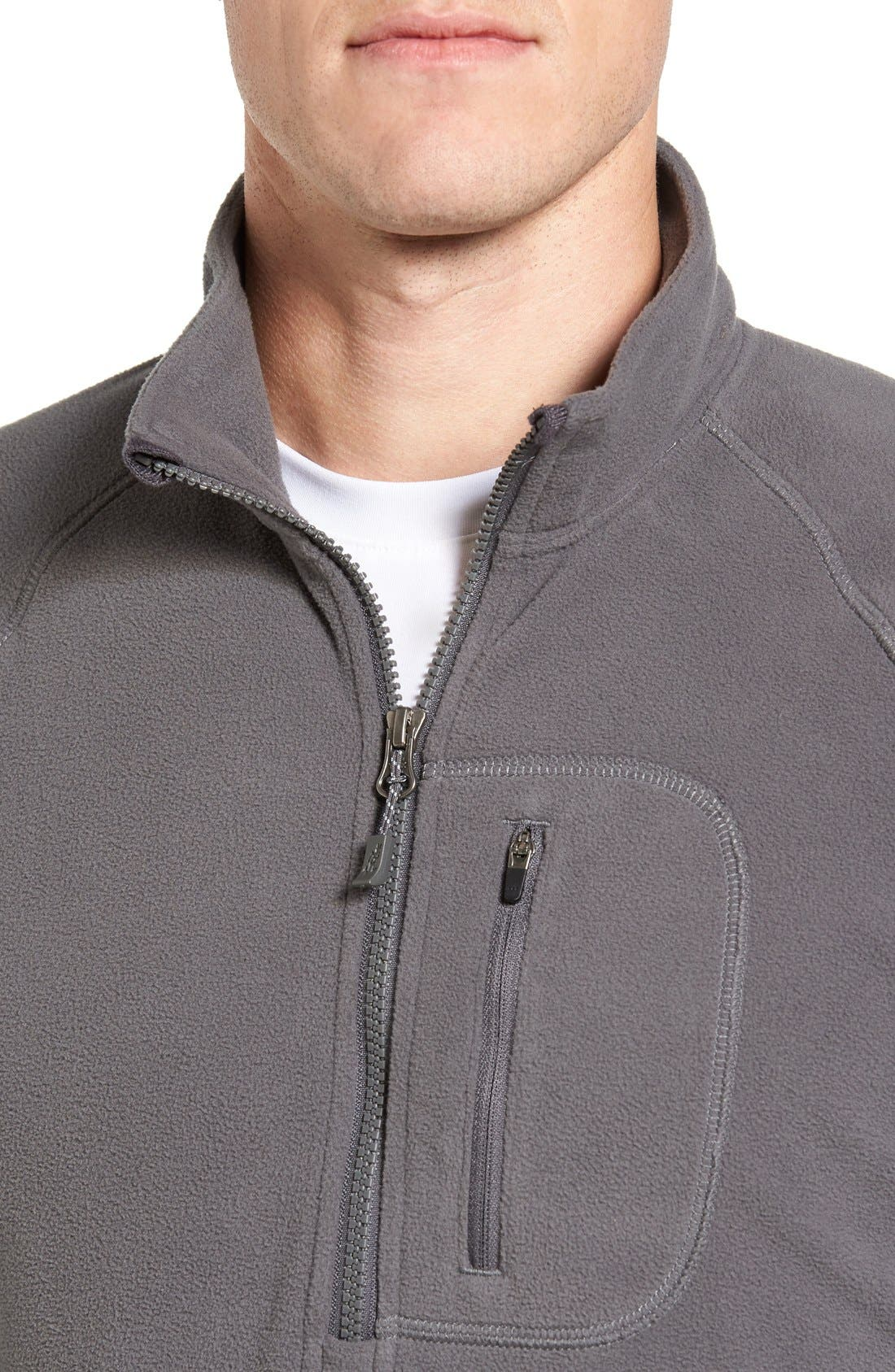 Alternate Image 4  - Gramicci Utility Quarter Zip Fleece Sweater