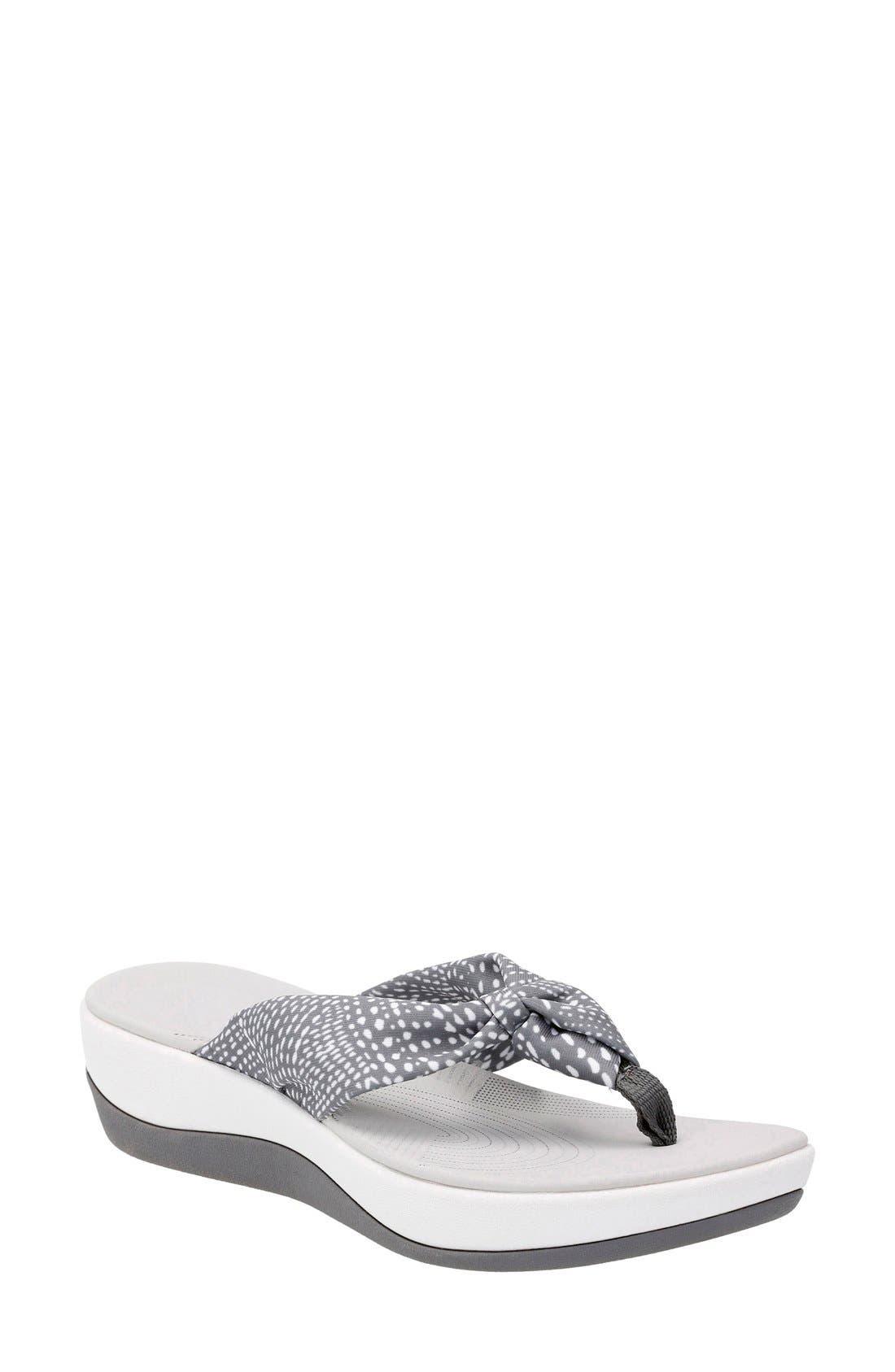 Main Image - Clarks® Arla Glison Flip Flop (Women)