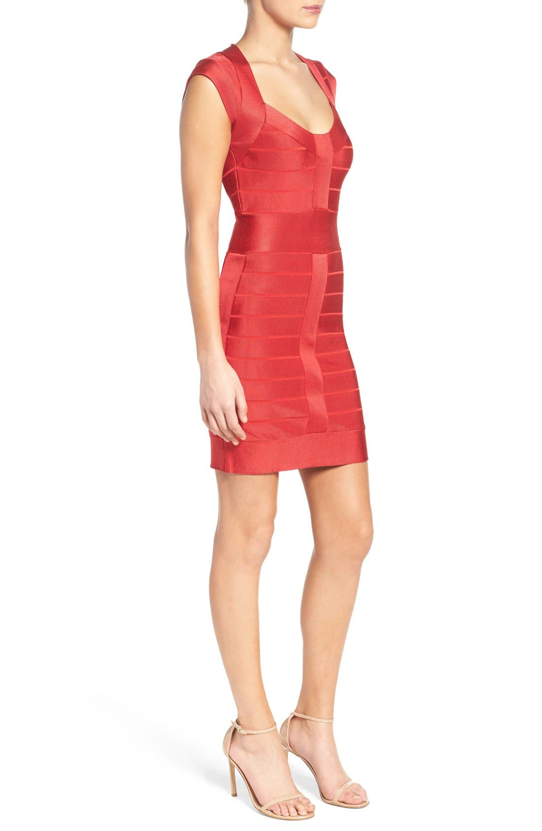 Alternate Image 3  - French Connection Spotlight Bandage Dress