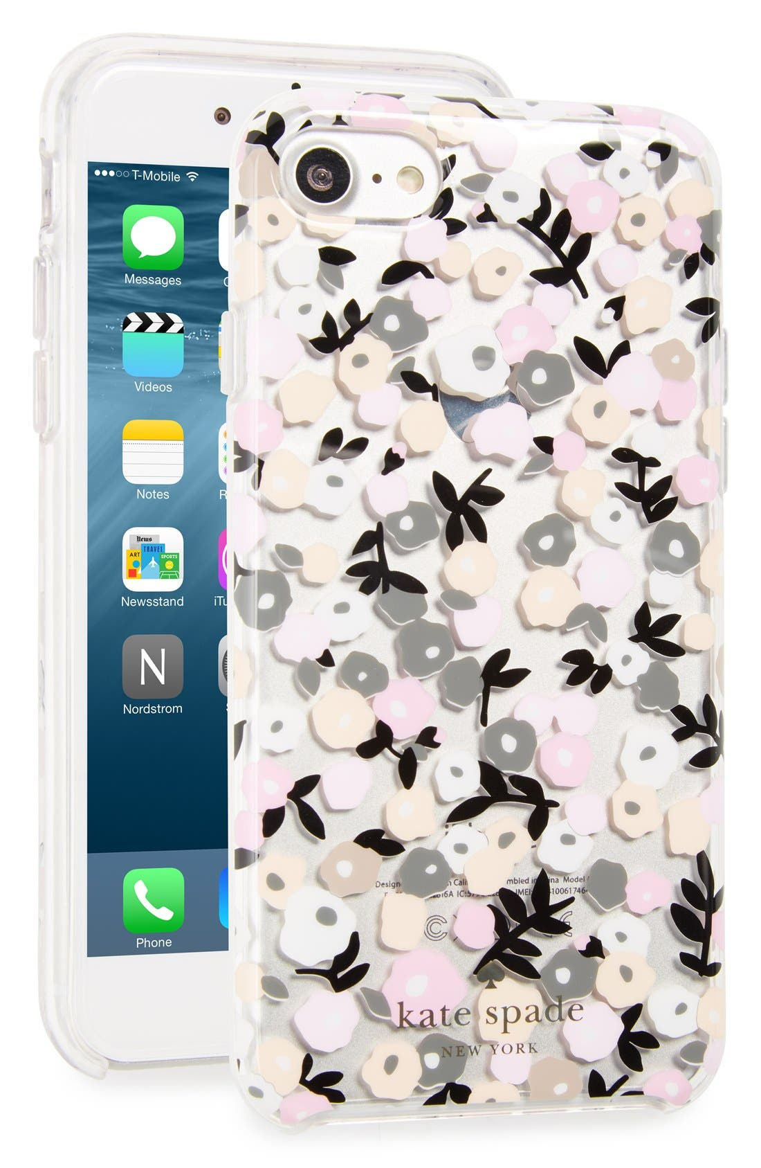Alternate Image 1 Selected - kate spade new york ditsy floral iPhone 7 case