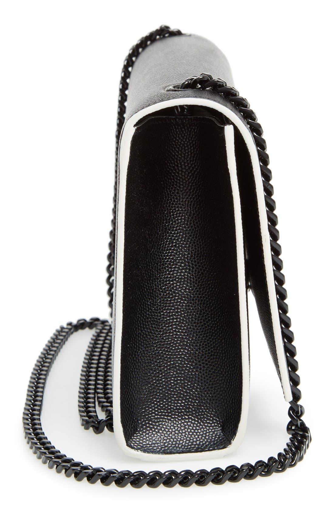 Alternate Image 2  - Saint Laurent Medium Kate Grainy Leather Shoulder Bag