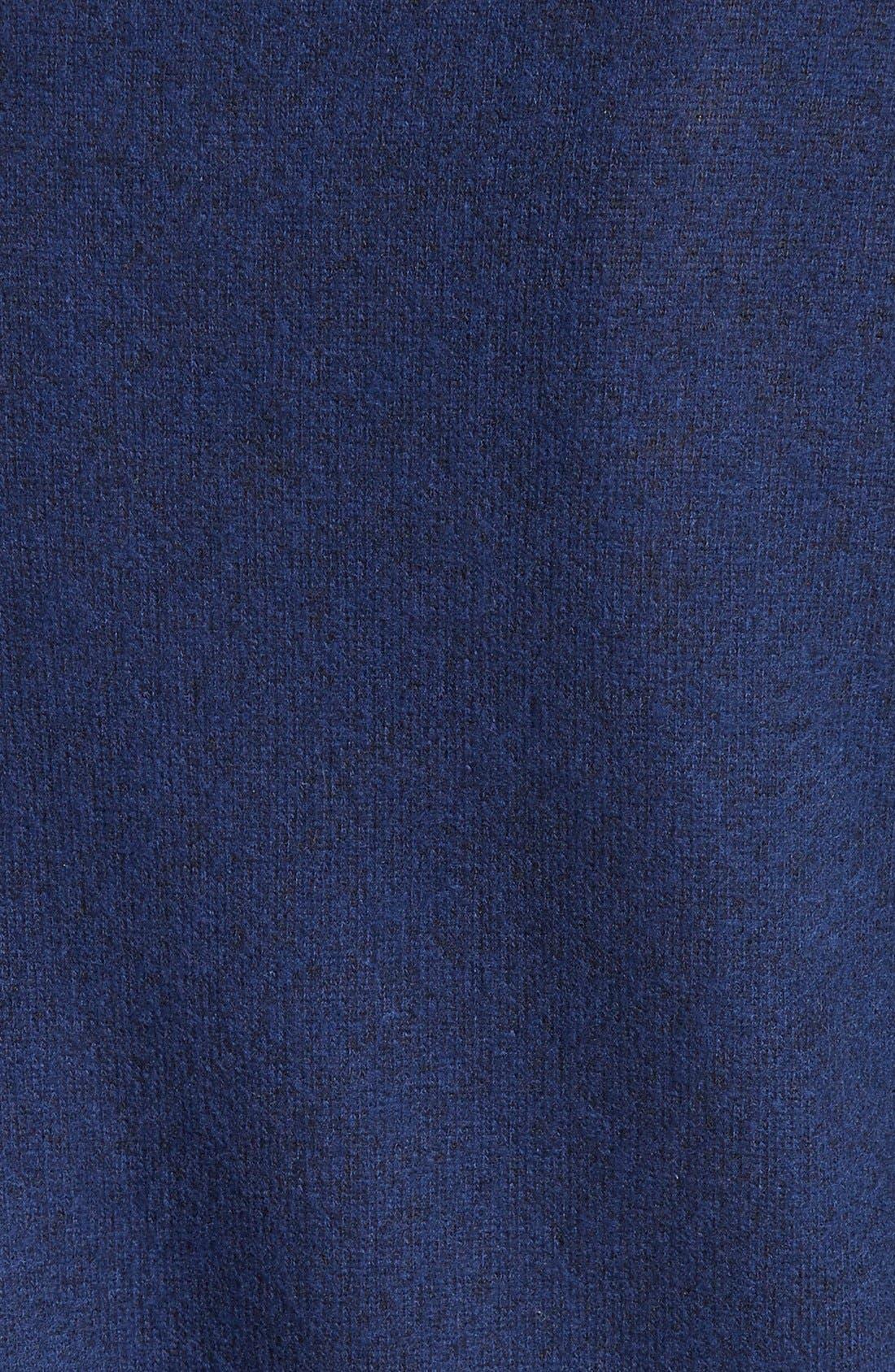 Soft Joie Giardia Drop Shoulder Sweater,                             Alternate thumbnail 5, color,                             Peacoat
