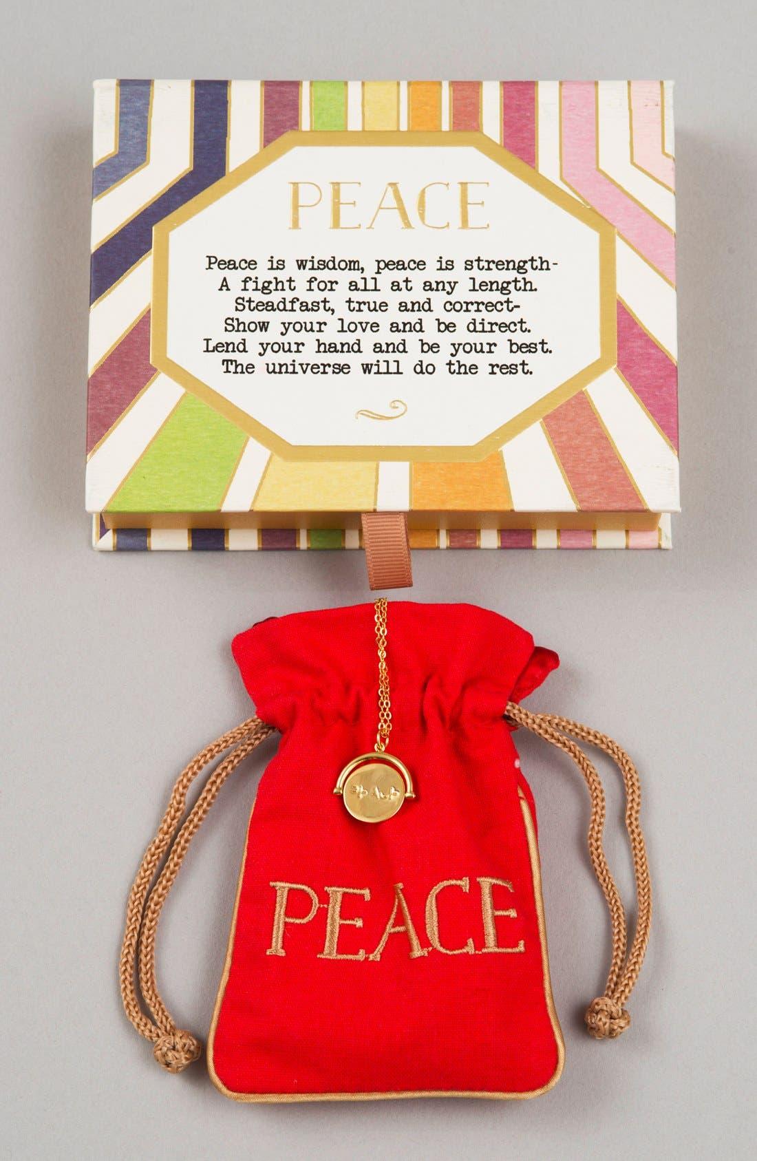 Alternate Image 2  - lulu dk Peace Love Code Charm Necklace