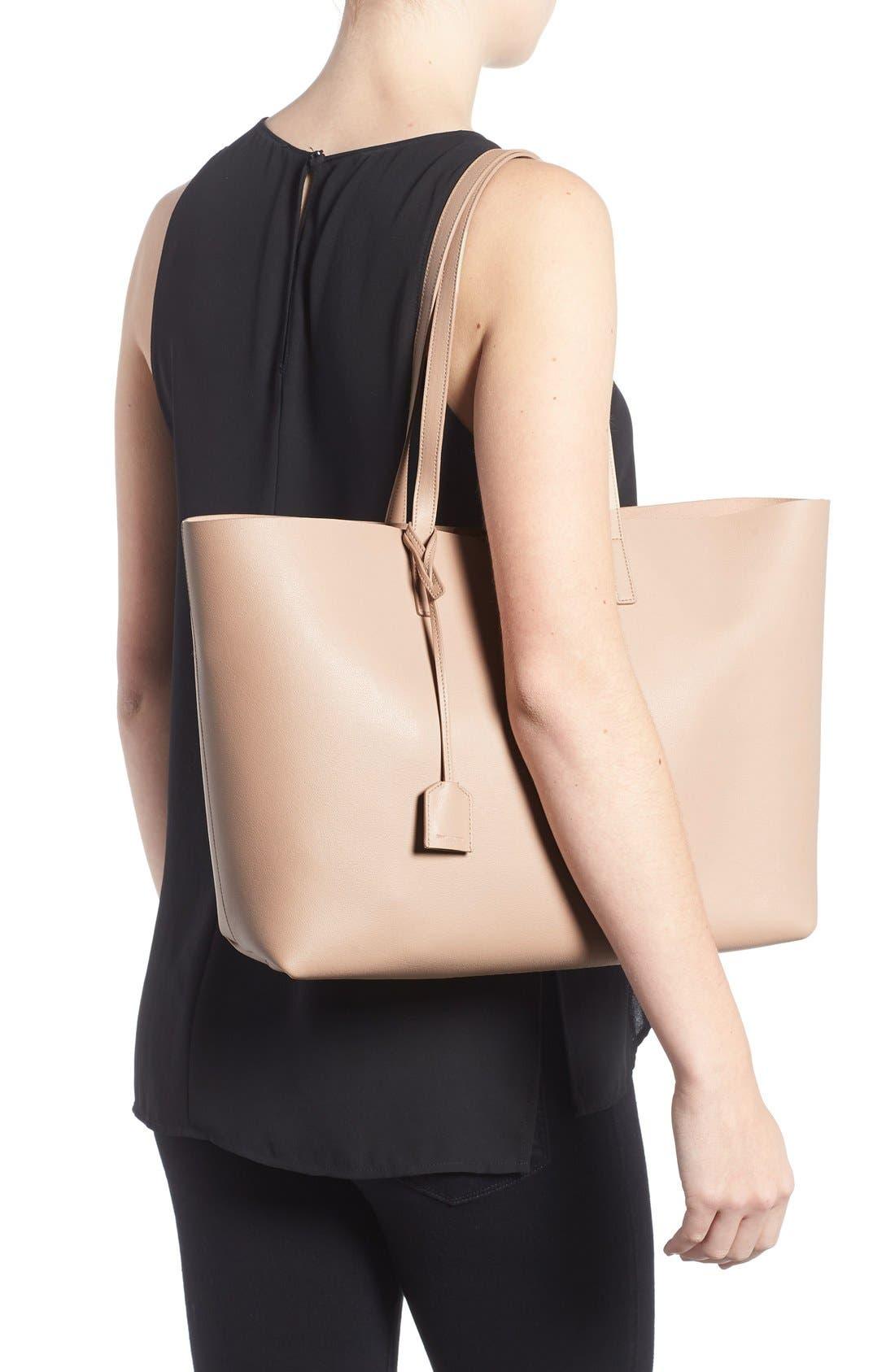 Alternate Image 2  - Saint Laurent 'Shopping' Leather Tote