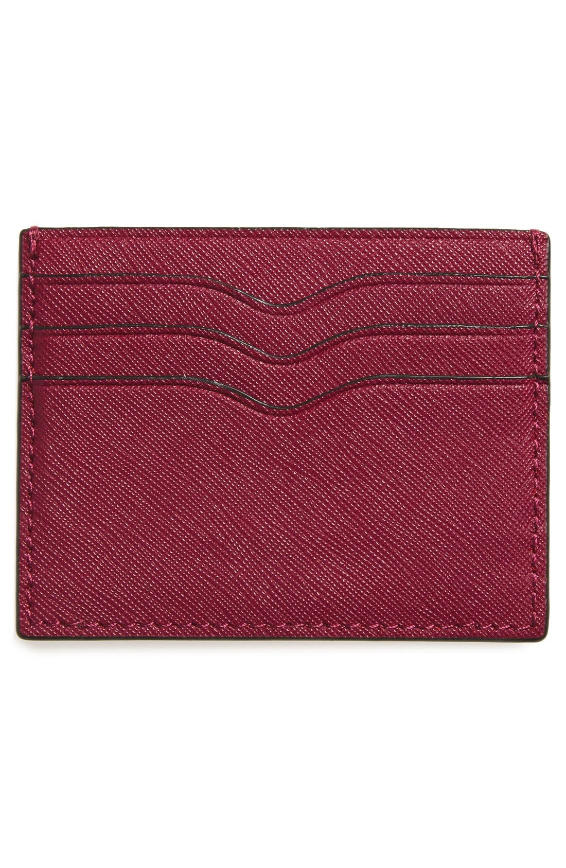 Alternate Image 2  - Rebecca Minkoff Everyday Leather Card Case