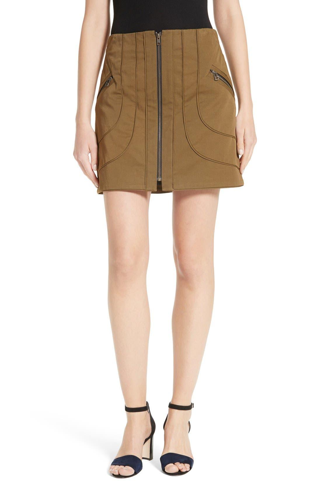 Alternate Image 1 Selected - Veronica Beard Linda Cargo Skirt