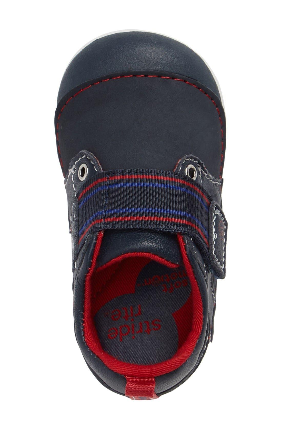 Alternate Image 3  - Stride Rite Soft Motion™ Cameron Sneaker (Baby & Walker)
