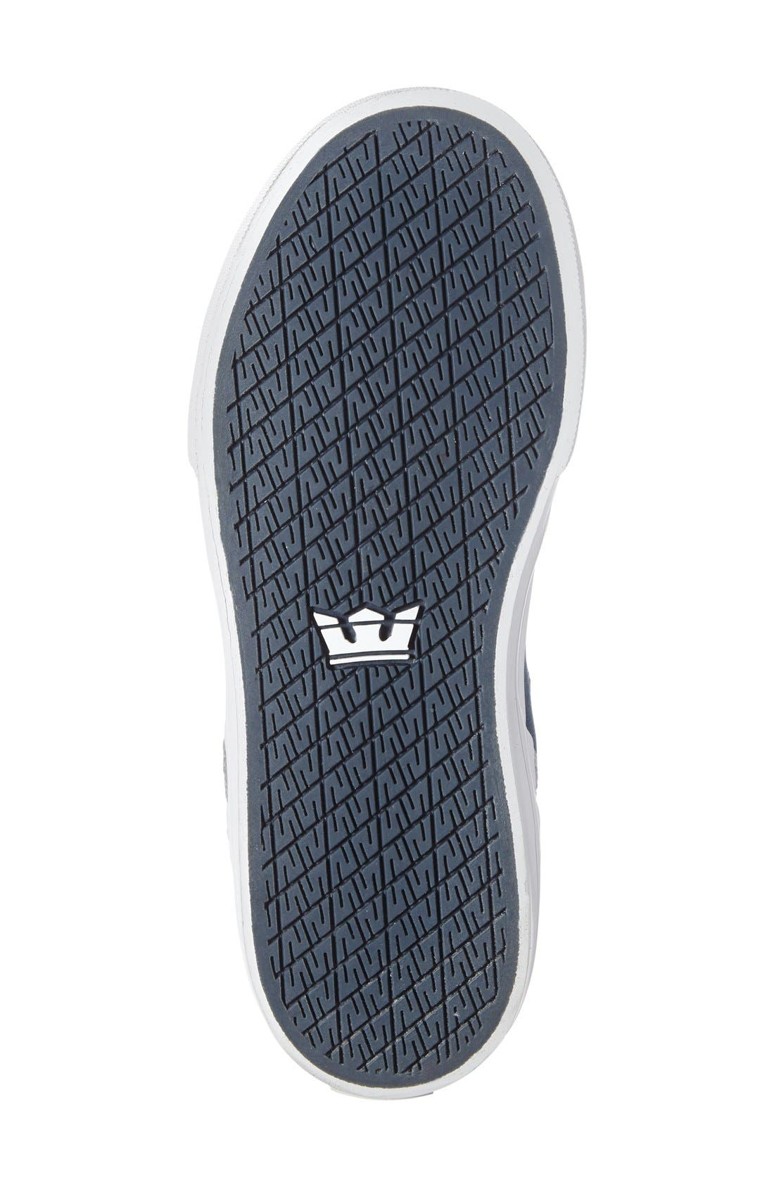 Alternate Image 4  - Supra Vaider High Top Sneaker (Toddler, Little Kid & Big Kid)