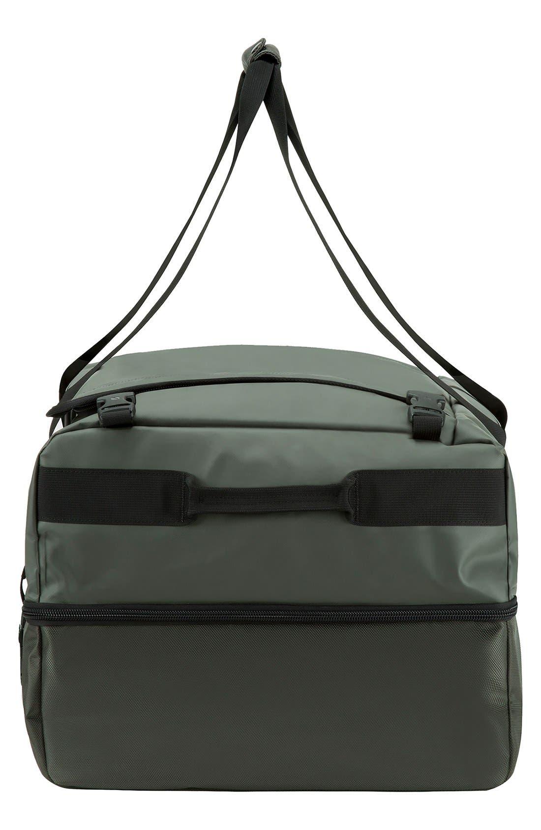 TRACTO Large Split Convertible Duffel Bag,                             Alternate thumbnail 3, color,                             Anthracite