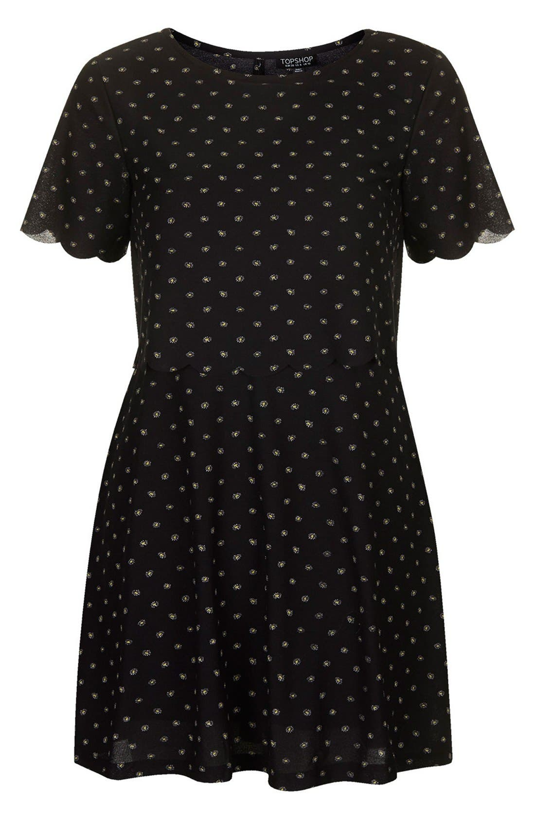 Alternate Image 3  - Topshop Daisy Overlay Dress