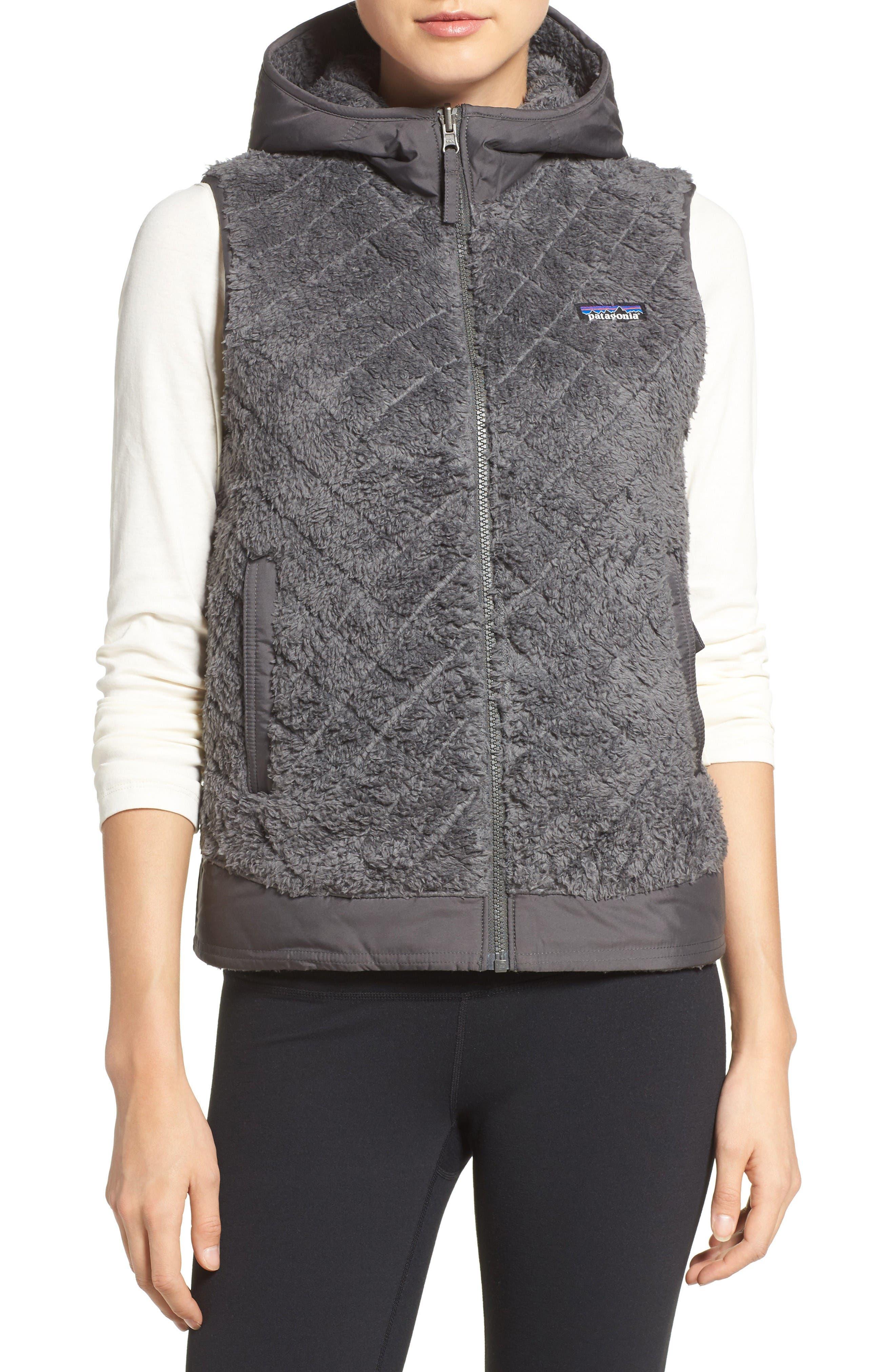 Los Gatos Reversible Vest,                         Main,                         color, Forge Grey
