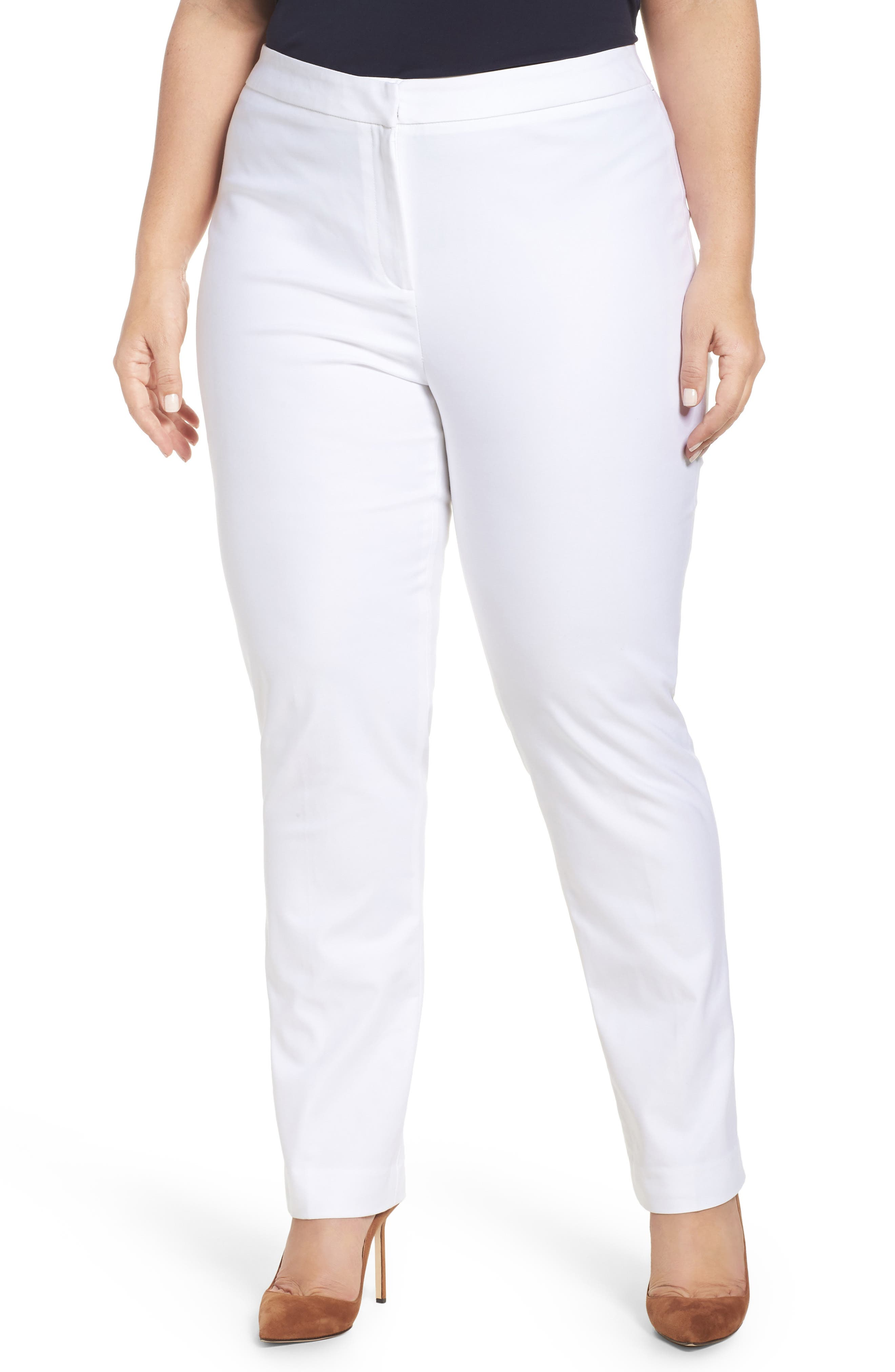 'The Perfect' Pants,                         Main,                         color, Paper White