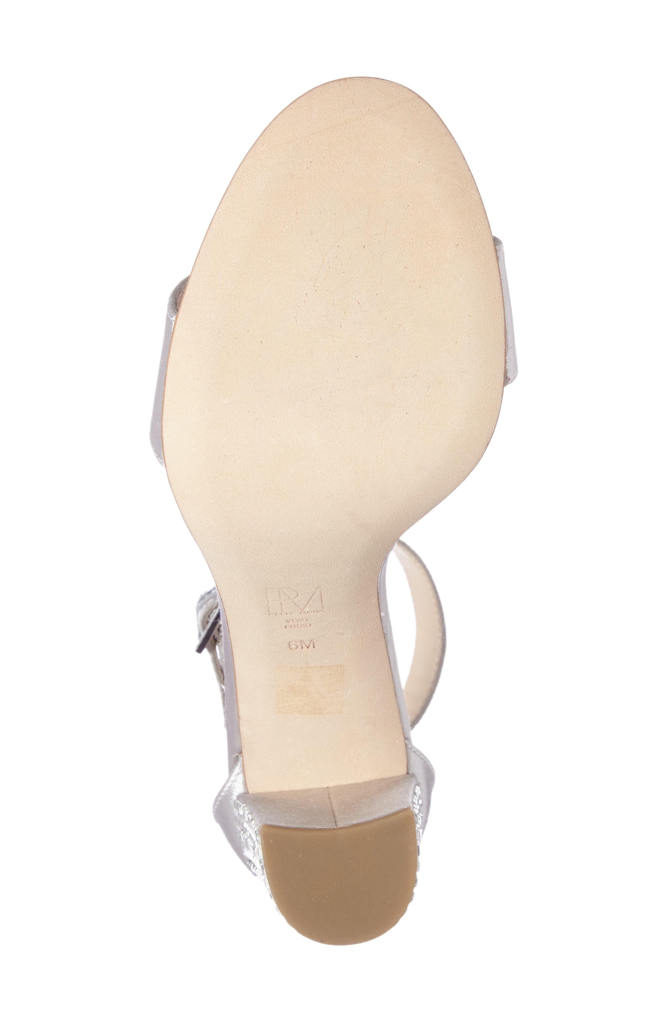 Alternate Image 4  - Pelle Moda Bonnie 3 Embellished Ankle Strap Sandal (Women)