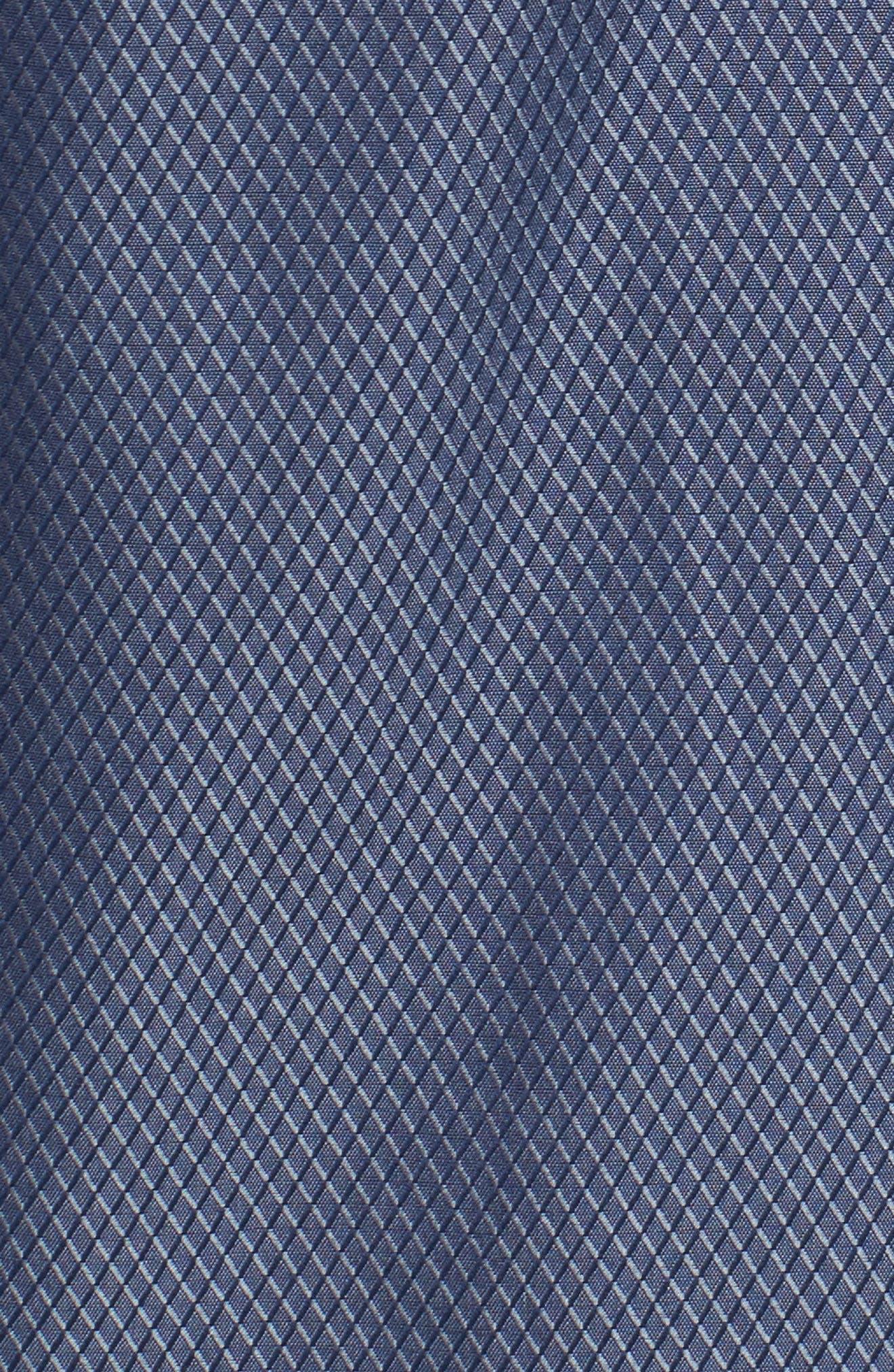Alternate Image 5  - Stone Rose Slim Fit Diamond Jacquard Sport Shirt