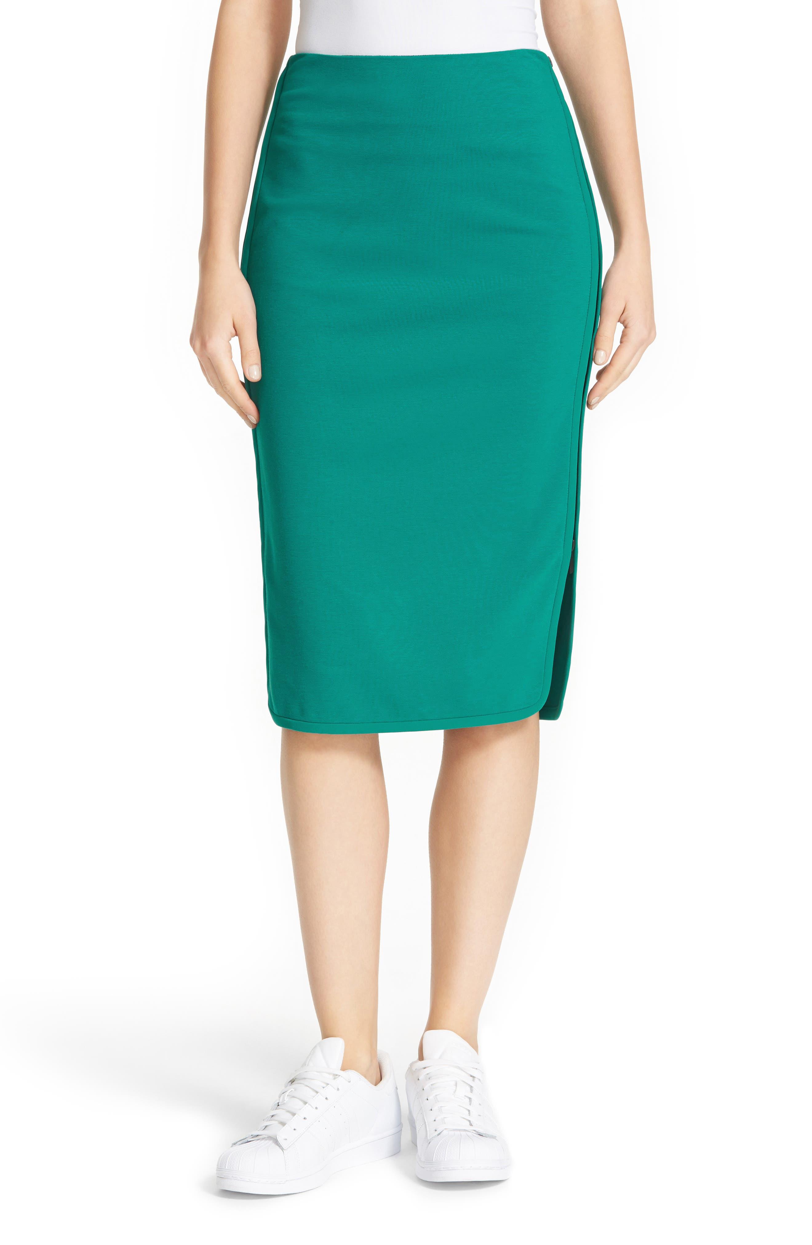 Main Image - Diane von Furstenberg Noemi Side Zip Pencil Skirt