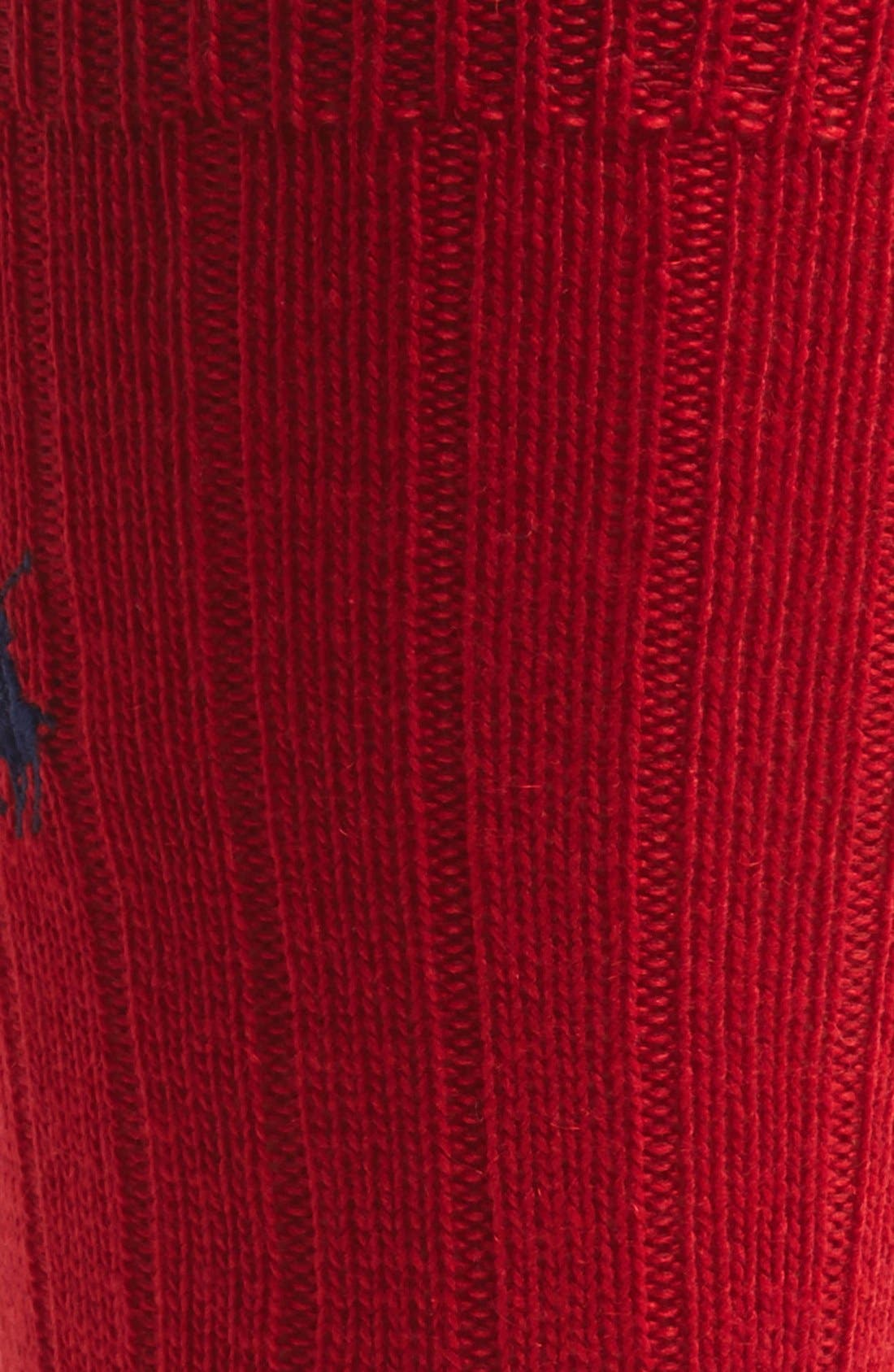Alternate Image 2  - Polo Ralph Lauren Cashmere Blend Socks