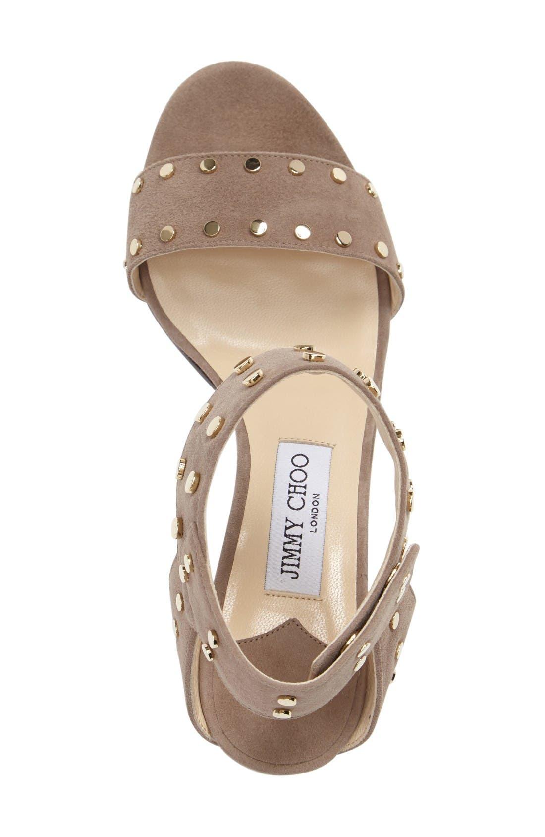 Alternate Image 3  - Jimmy Choo 'Veto' Studded Sandal (Women)