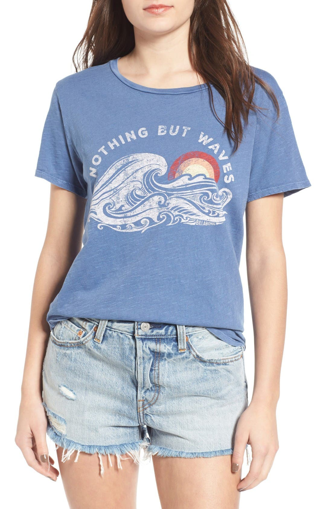 Alternate Image 1 Selected - Billabong Hawaii Waves Graphic Tee