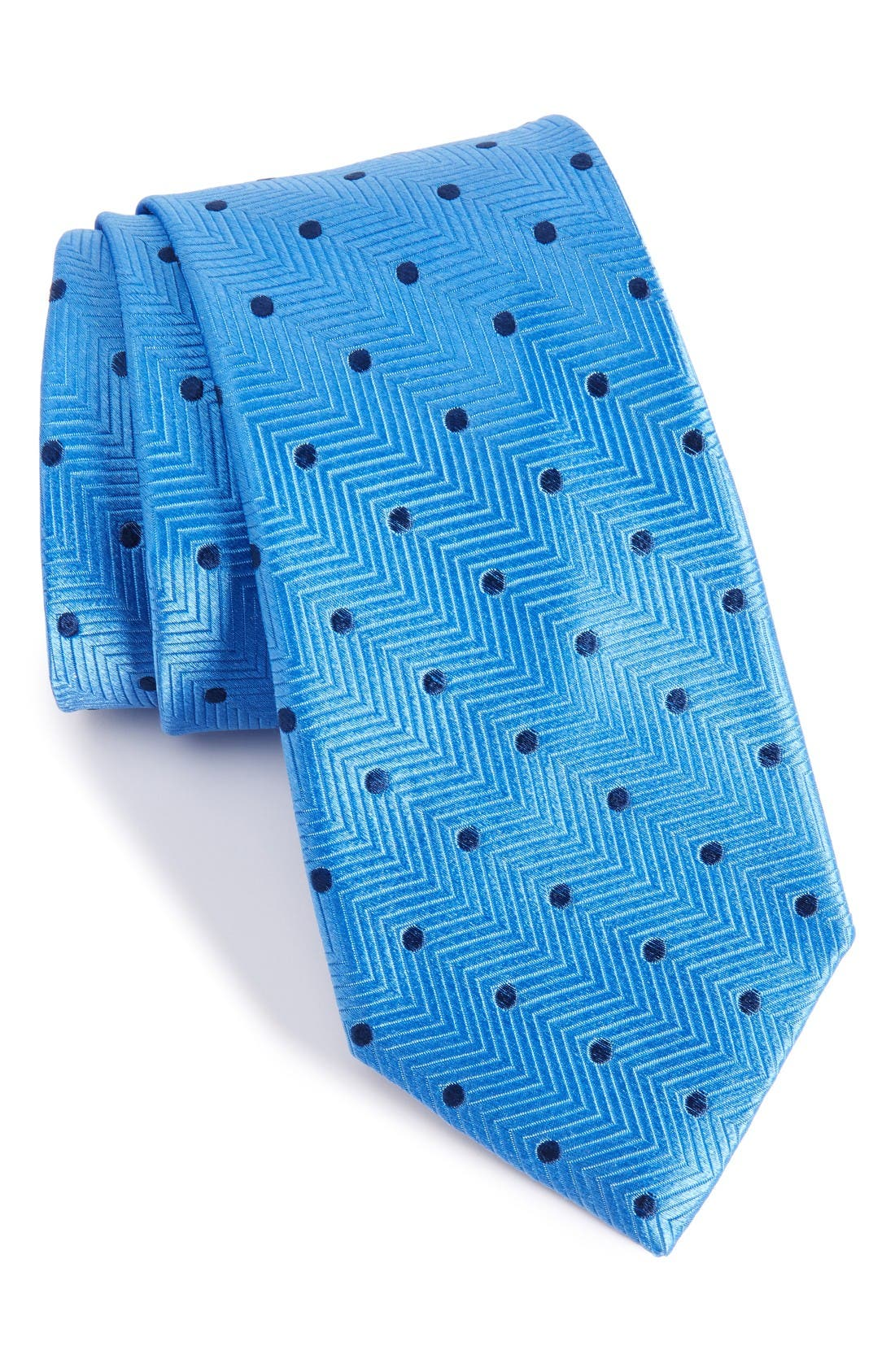NORDSTROM MENS SHOP Confetti Dot Silk Tie