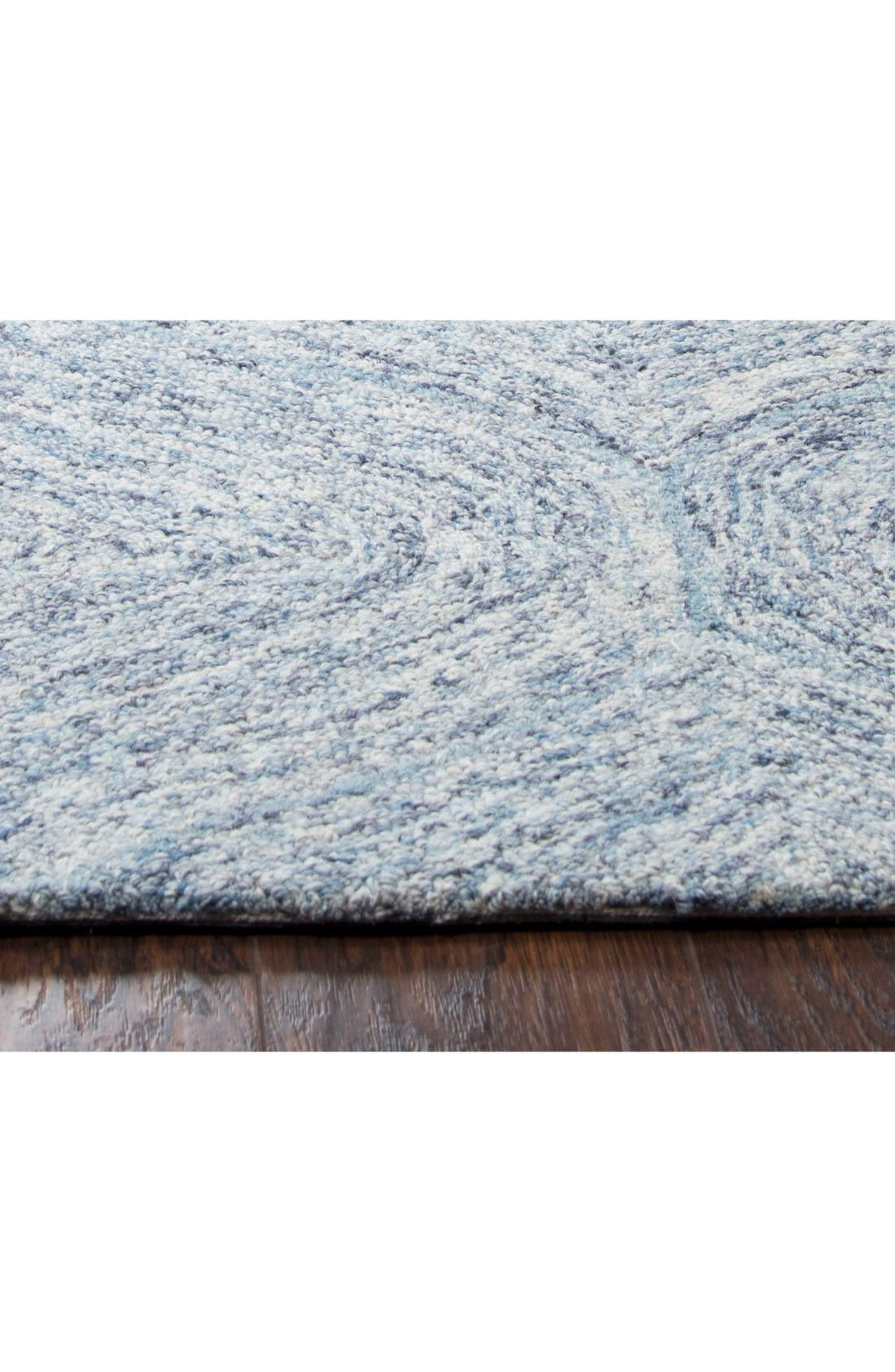 Alternate Image 3  - Rizzy Home Irregular Diamond Hand Tufted Wool Area Rug