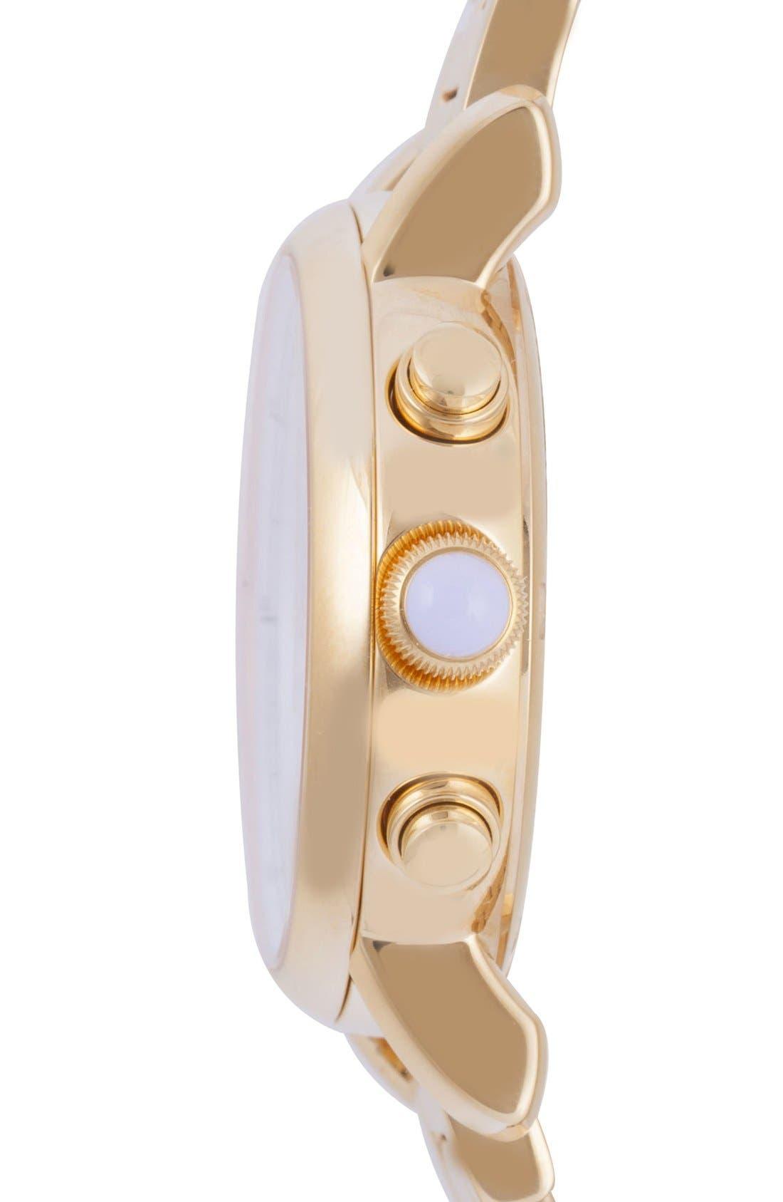Alternate Image 3  - Versace 'Day Glam' Chronograph Bracelet Watch, 38mm