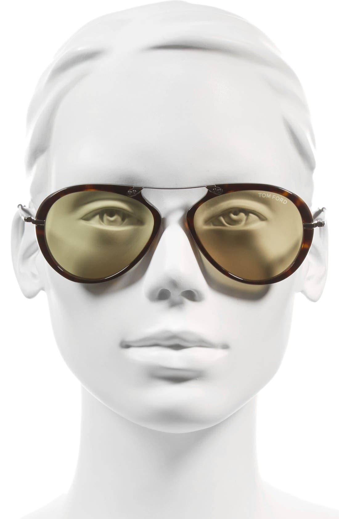 Alternate Image 2  - Tom Ford 'Aaron' 53mm Sunglasses