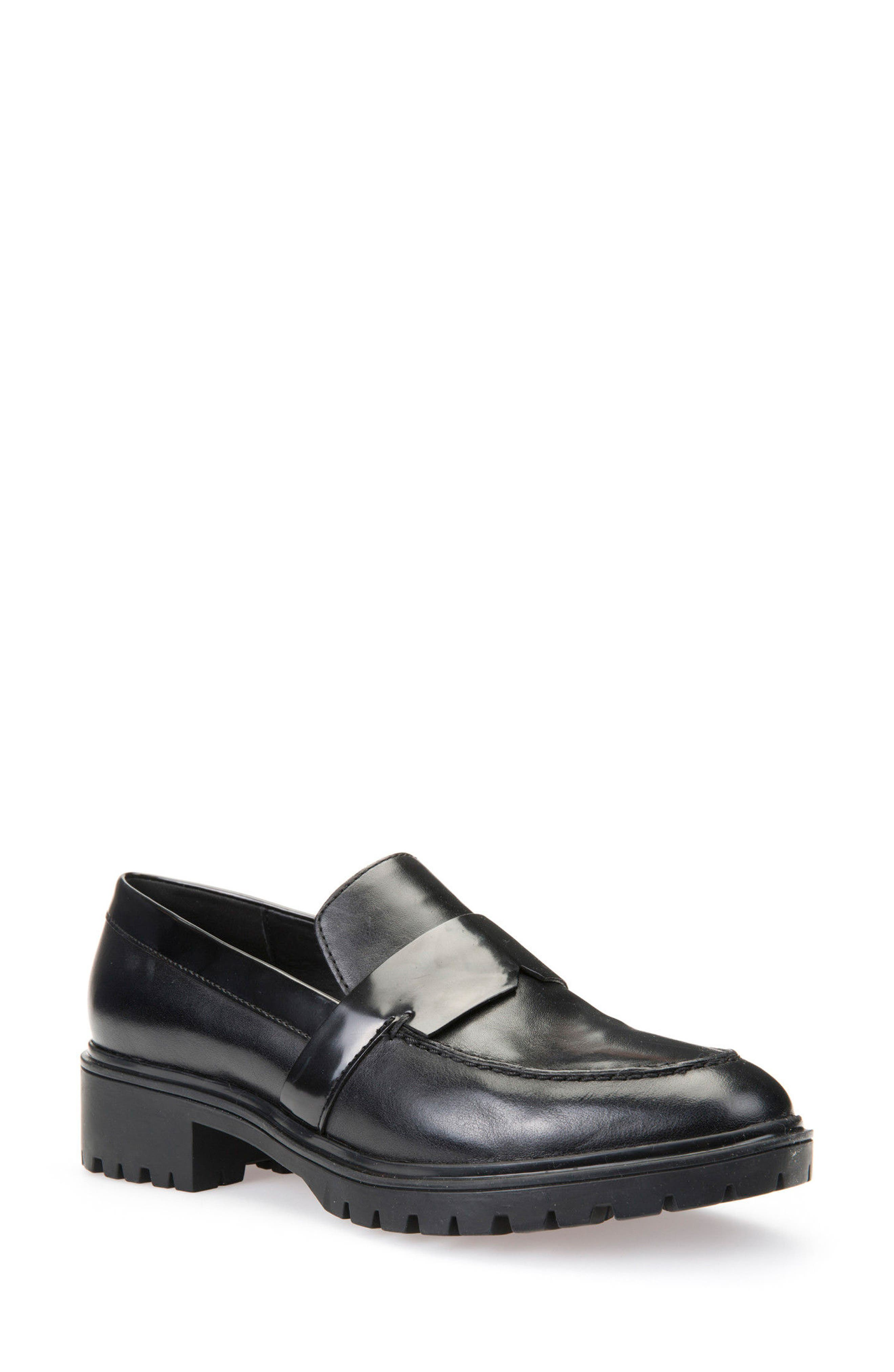 Alternate Image 1 Selected - Geox Peaceful Loafer Pump (Women)