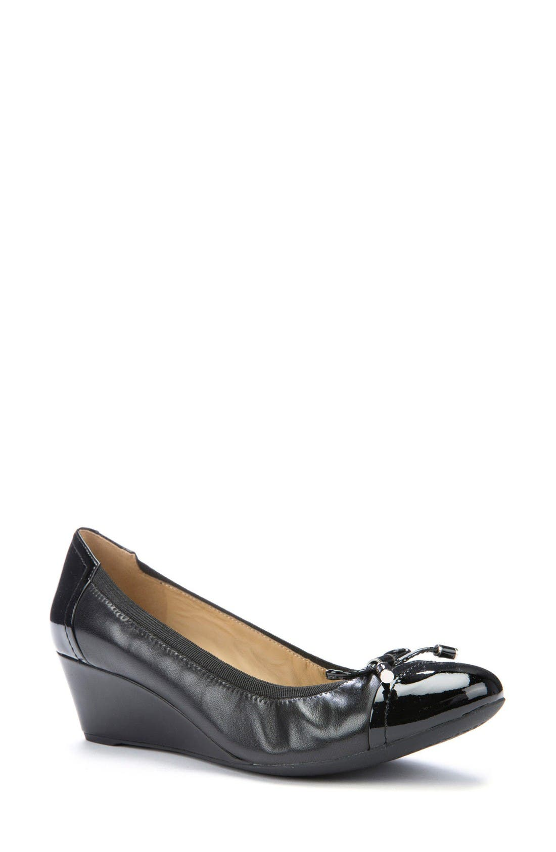 Alternate Image 1 Selected - Geox Floralie 17 Wedge Pump (Women)