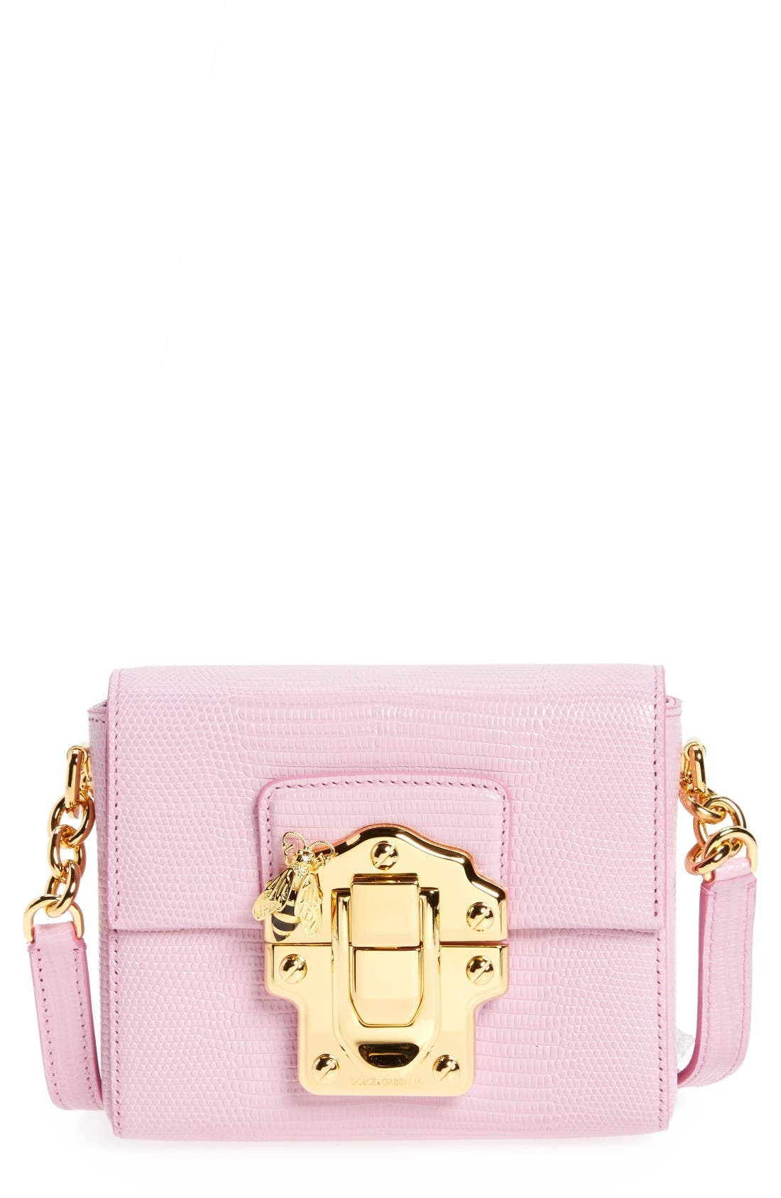 Alternate Image 1 Selected - Dolce&Gabbana Mini Luccia Crossbody Bag