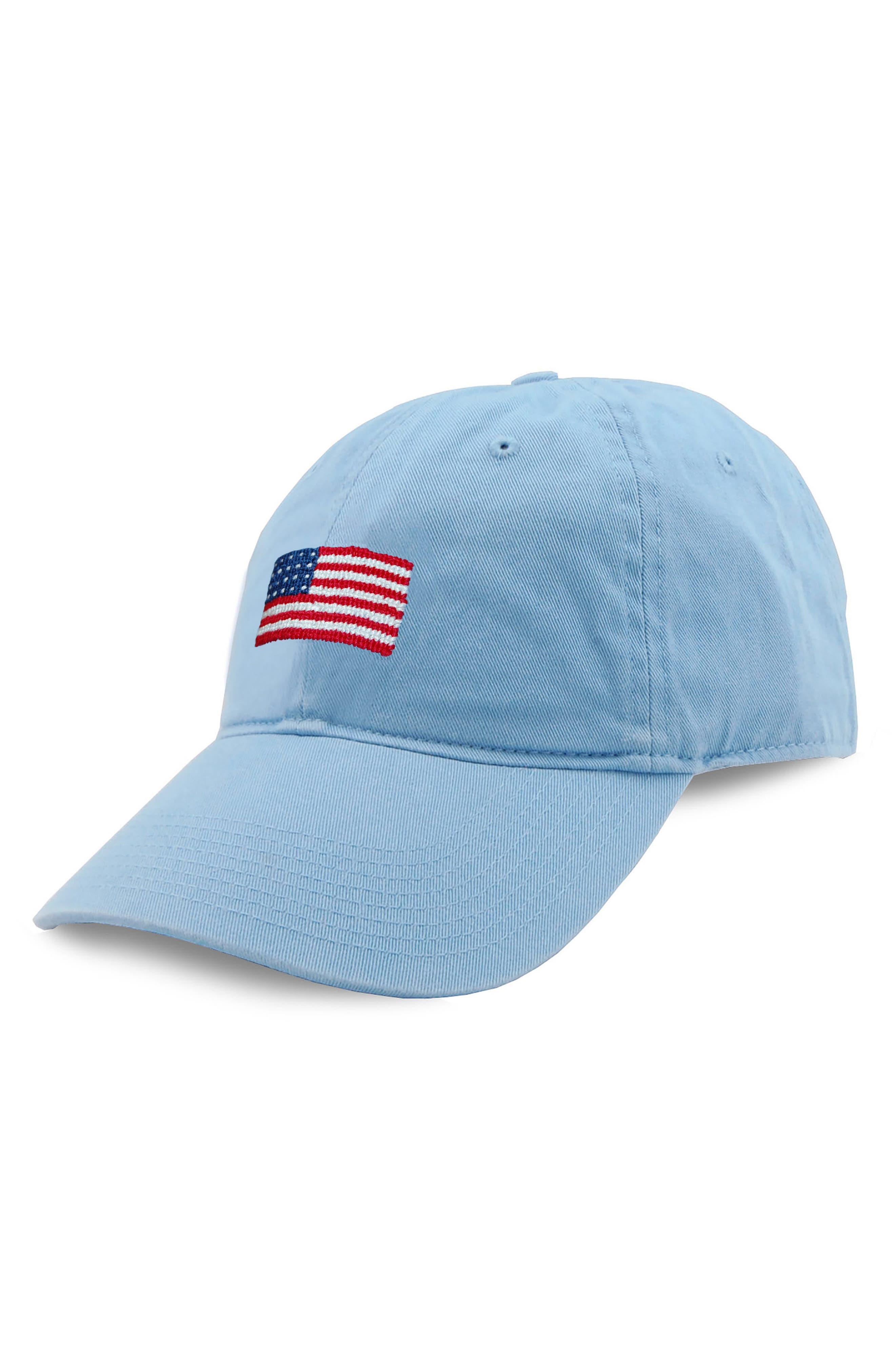 Alternate Image 1 Selected - Smathers & Branson 'American Flag' Baseball Cap