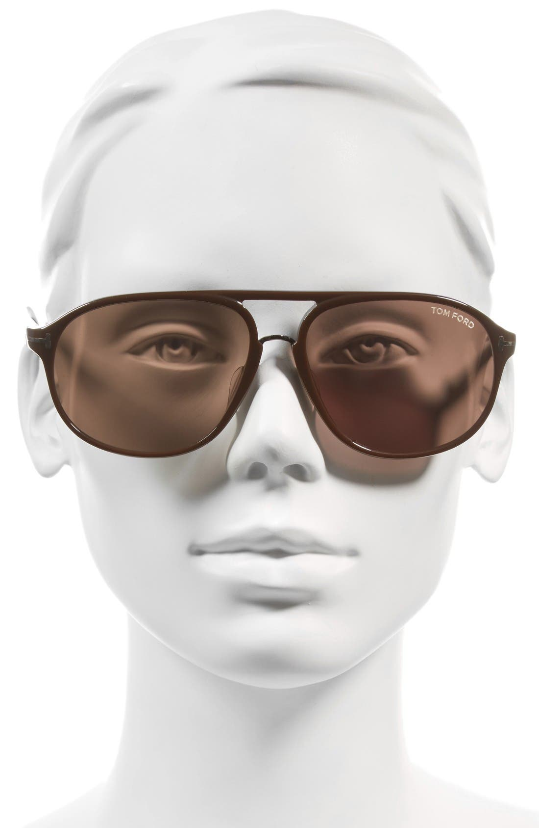 Alternate Image 2  - Tom Ford Jacob 61mm Special Fit Aviator Sunglasses