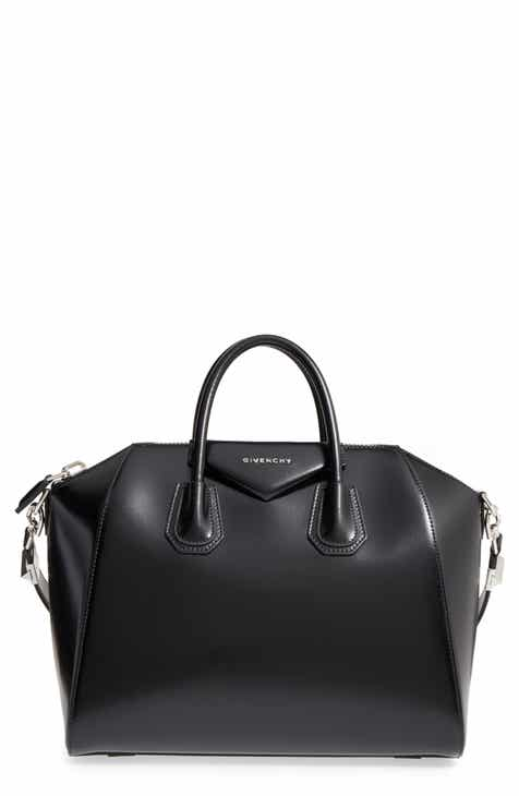 384aedb370d4 Givenchy Medium Antigona Box Leather Satchel