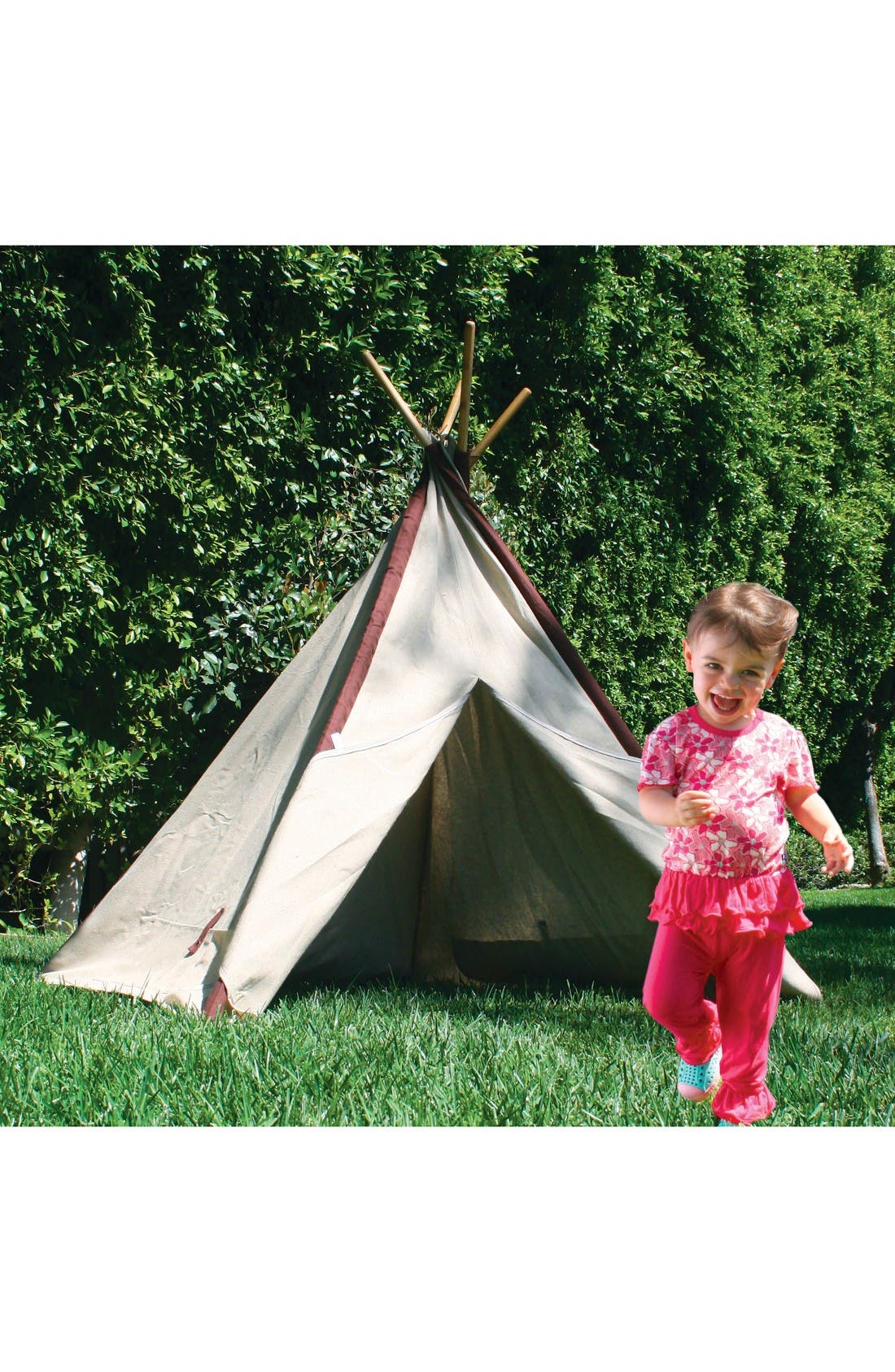 Alternate Image 2  - Pacific Play Tents Classic Linen Teepee