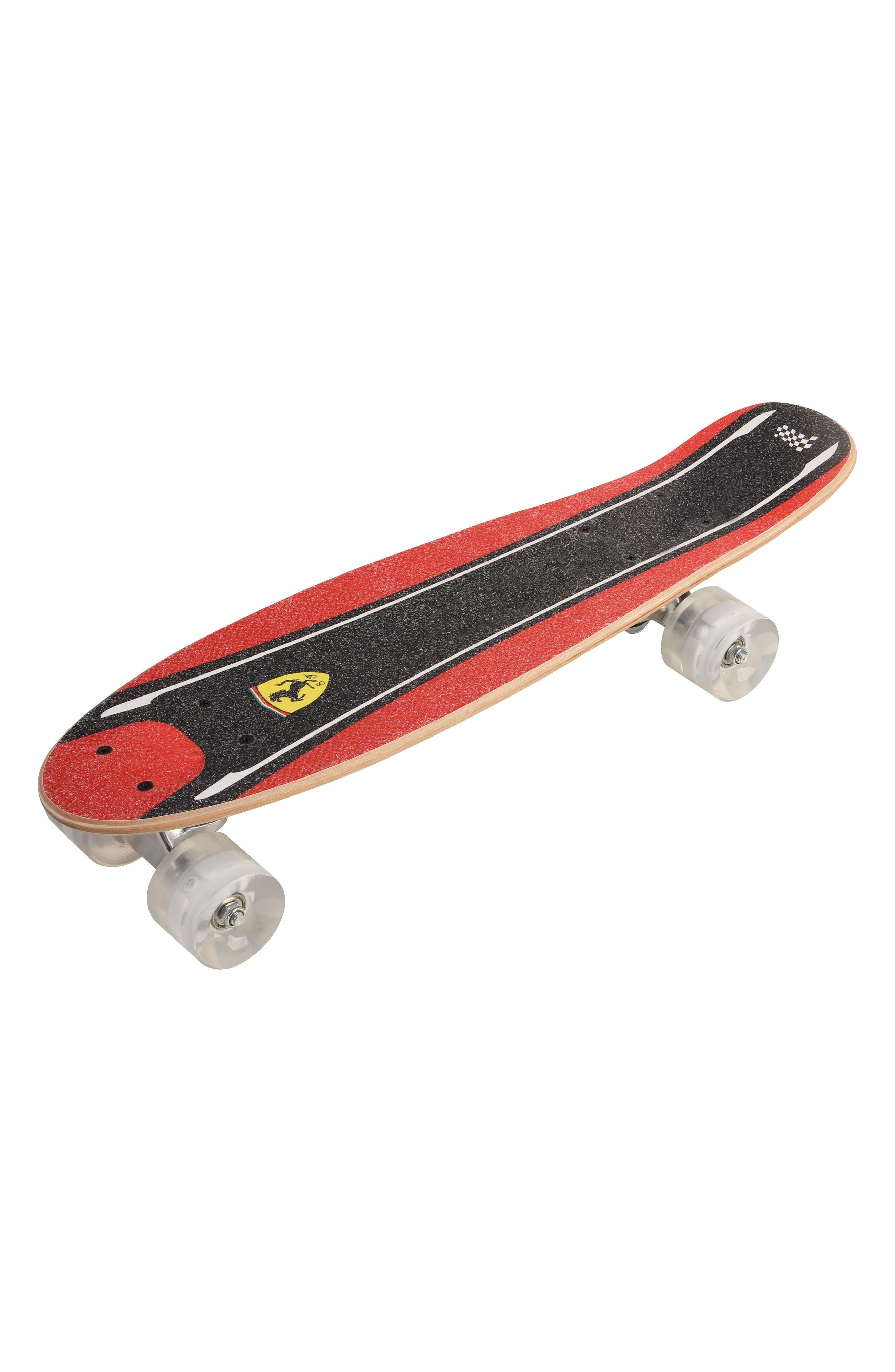 Skateboard,                             Main thumbnail 1, color,                             Ferrari Red