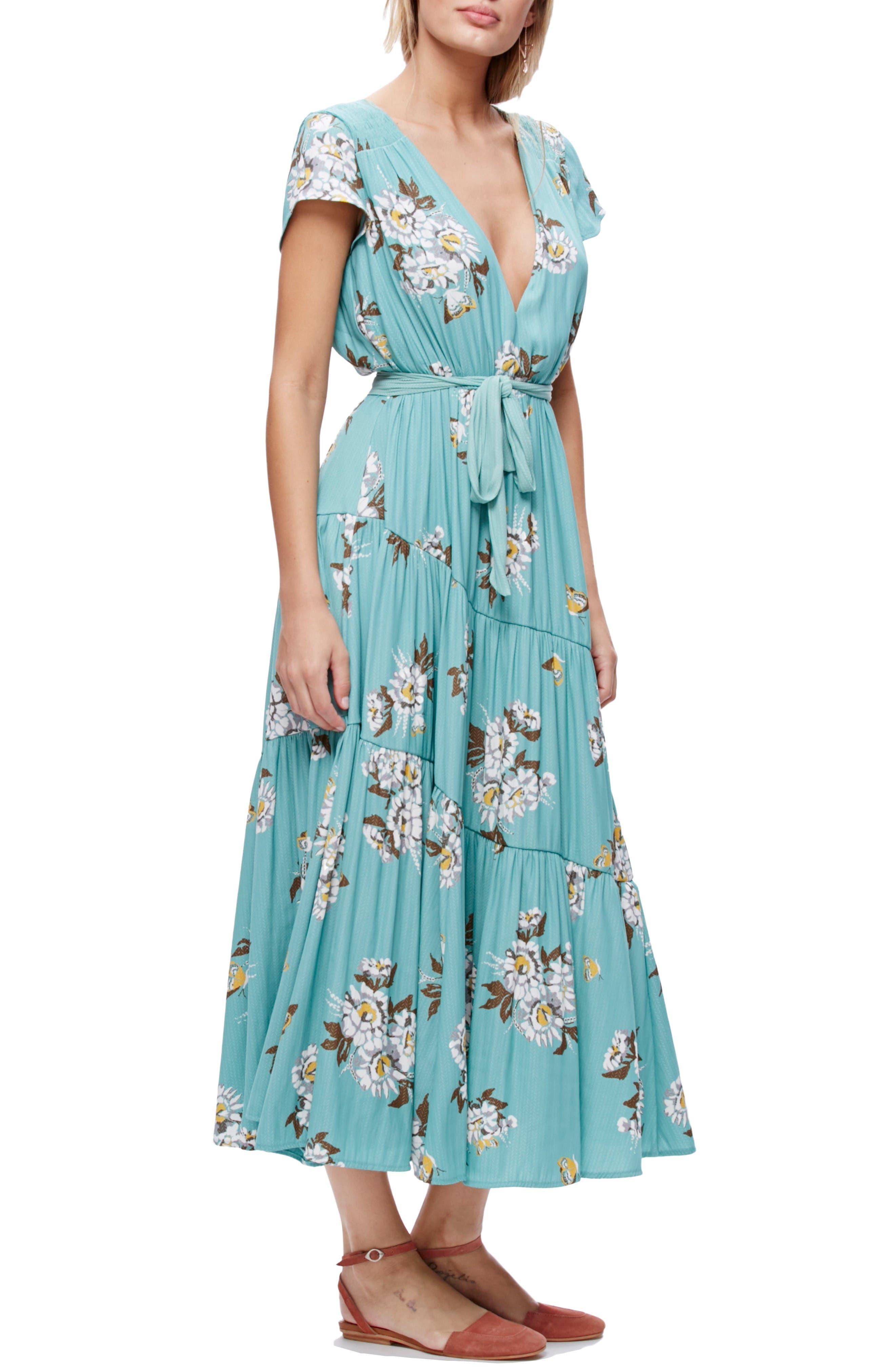 All I Got Maxi Dress,                             Main thumbnail 1, color,                             Botanic Combo